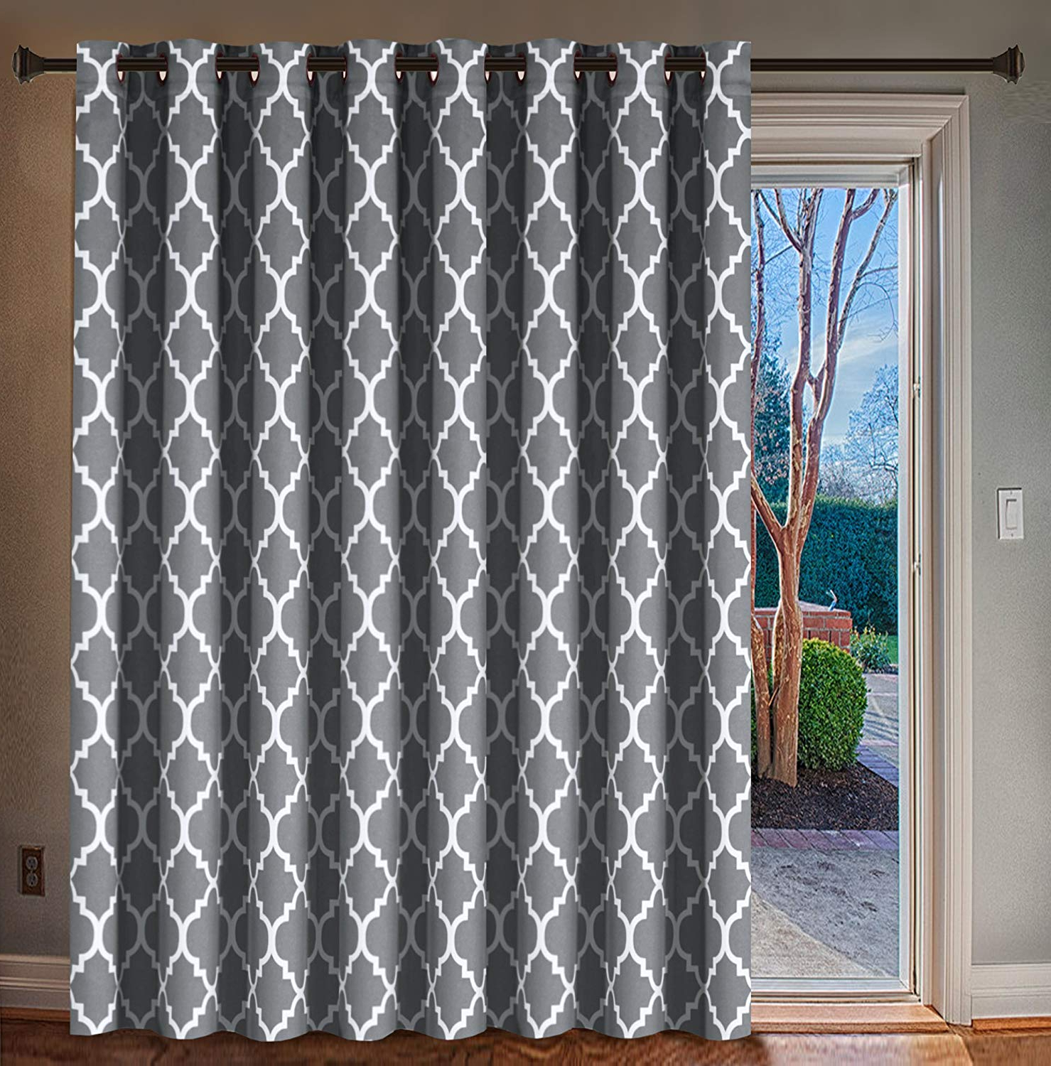 Grommet Blackout Patio Door Window Curtain Panels With Most Recent H (View 5 of 20)