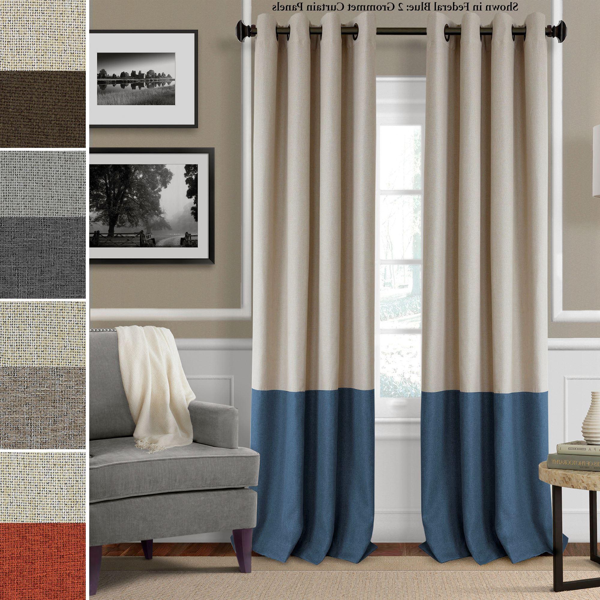 Grommet Curtain Panels Intended For 2021 Braiden Room Darkening Grommet Curtain Panels (View 3 of 20)