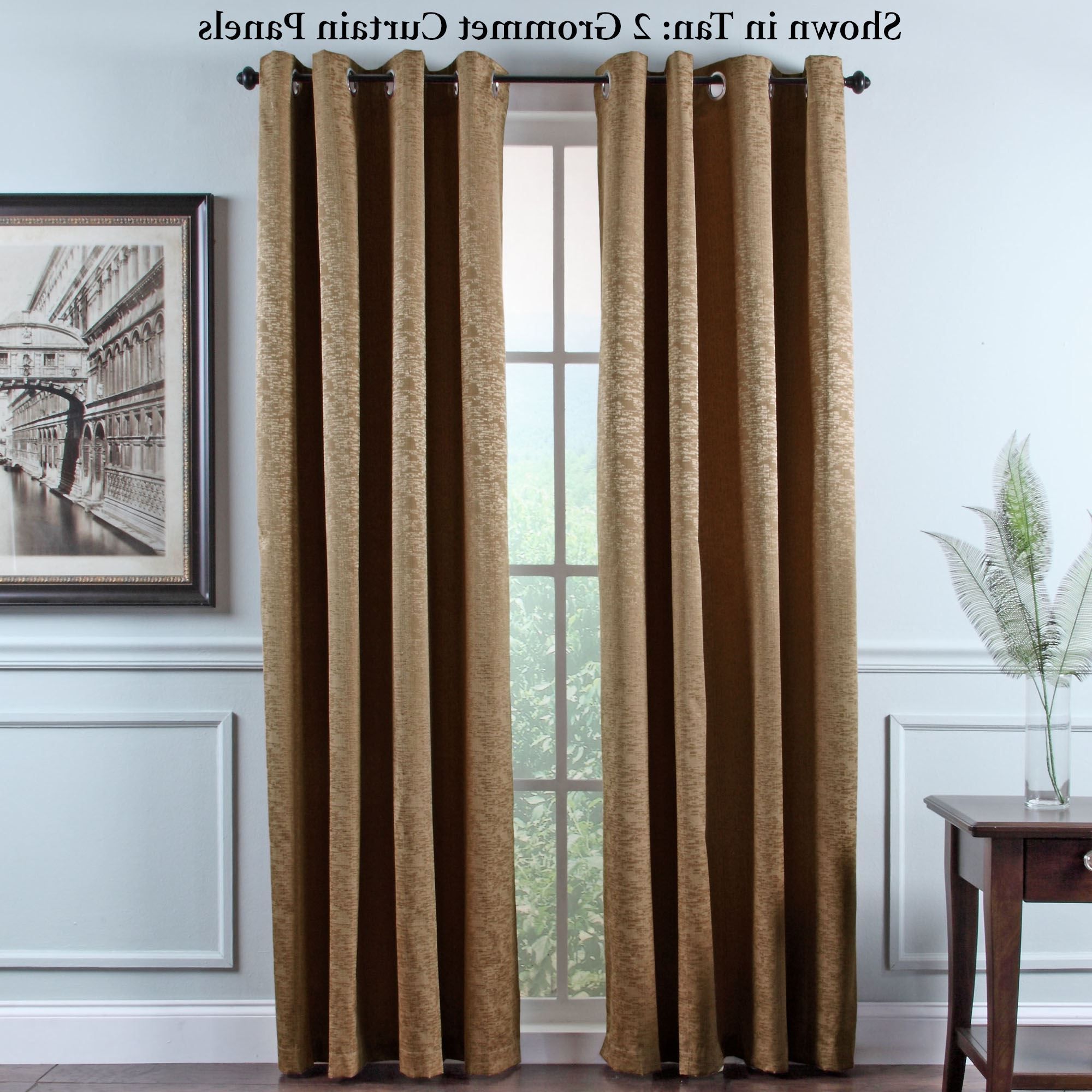 Grommet Room Darkening Curtain Panels In Widely Used Portland Room Darkening Insulated Grommet Curtain Panels (View 6 of 20)