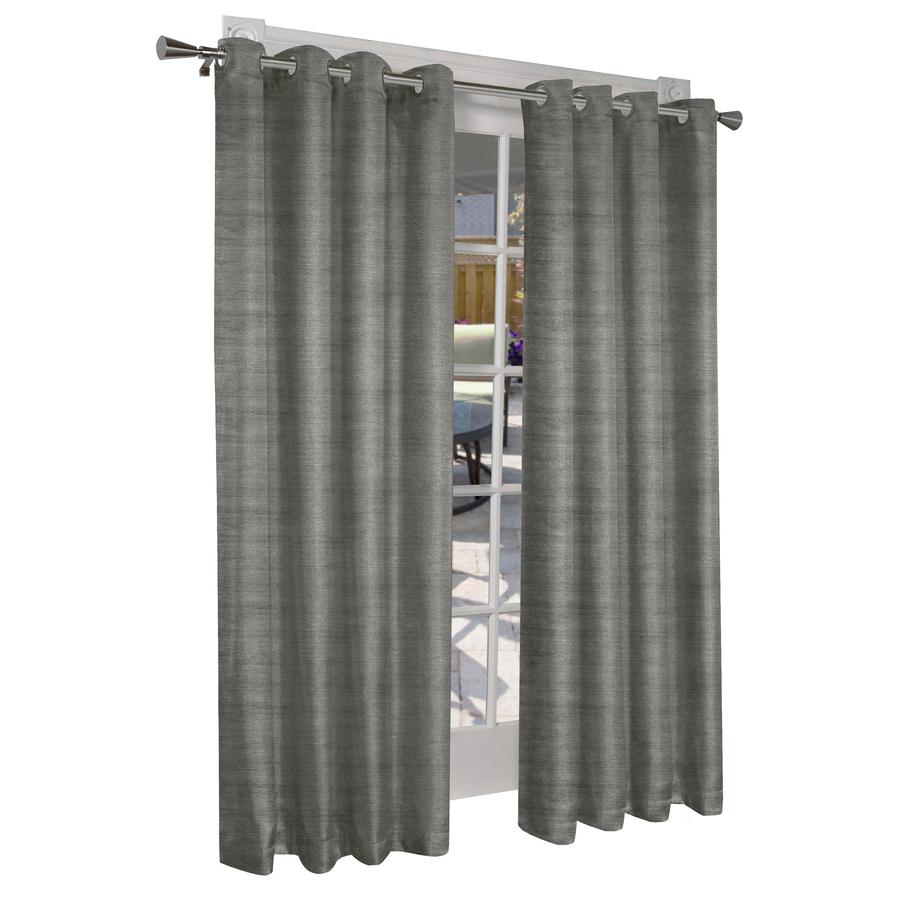 Grommet Room Darkening Curtain Panels Inside Popular Design Decor 96 In Viridian Grey Polyester Grommet Room Darkening Single Curtain Panel (View 19 of 20)