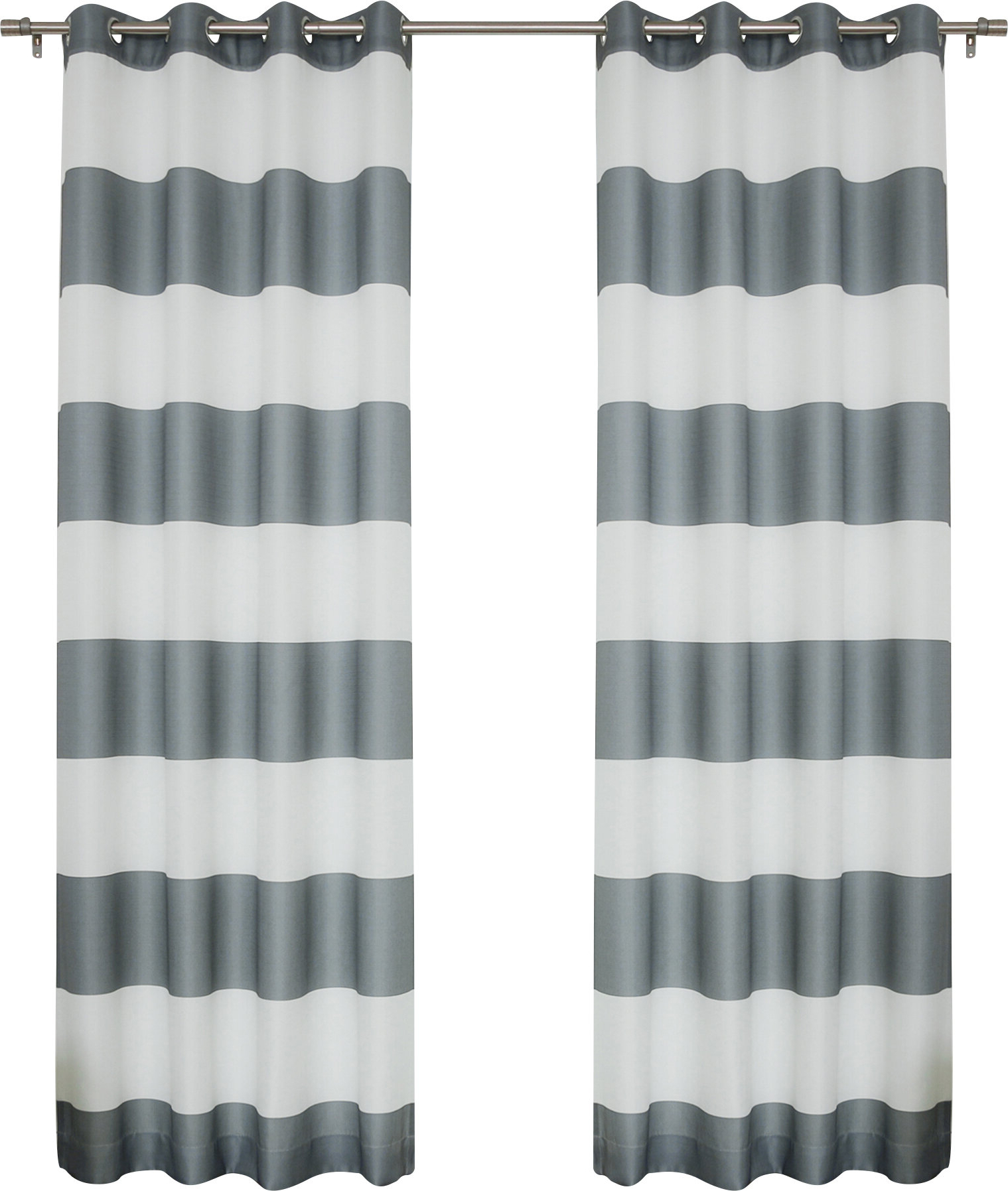 Inez Patio Door Window Curtain Panels Pertaining To Widely Used Paityn Rugby Curtain Panels (View 15 of 20)
