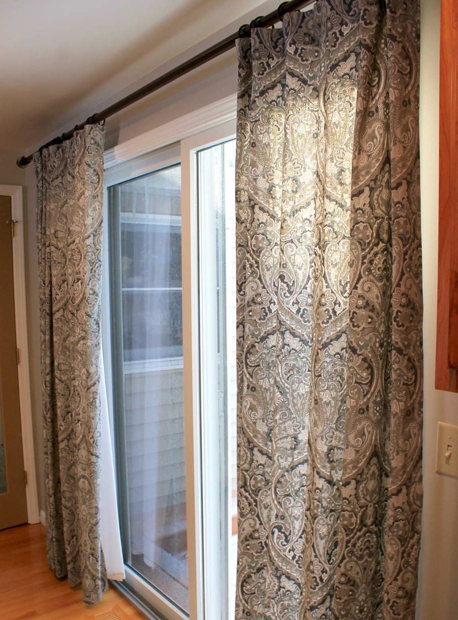Inez Patio Door Window Curtain Panels Throughout Trendy Pretty Popular Window Treatments For Sliding Glass Doors (View 16 of 20)