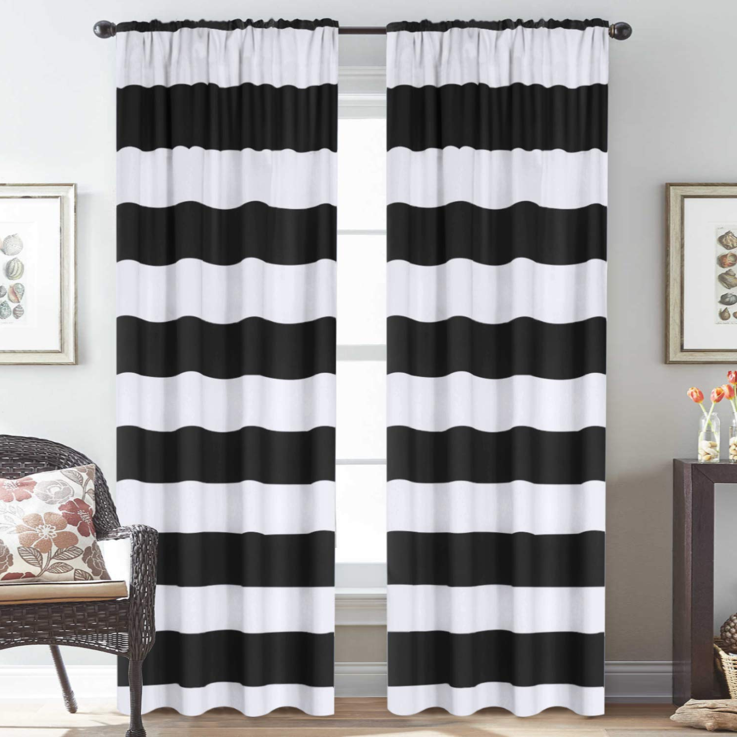 Insulated Cotton Curtain Panel Pairs In Famous H (View 10 of 20)