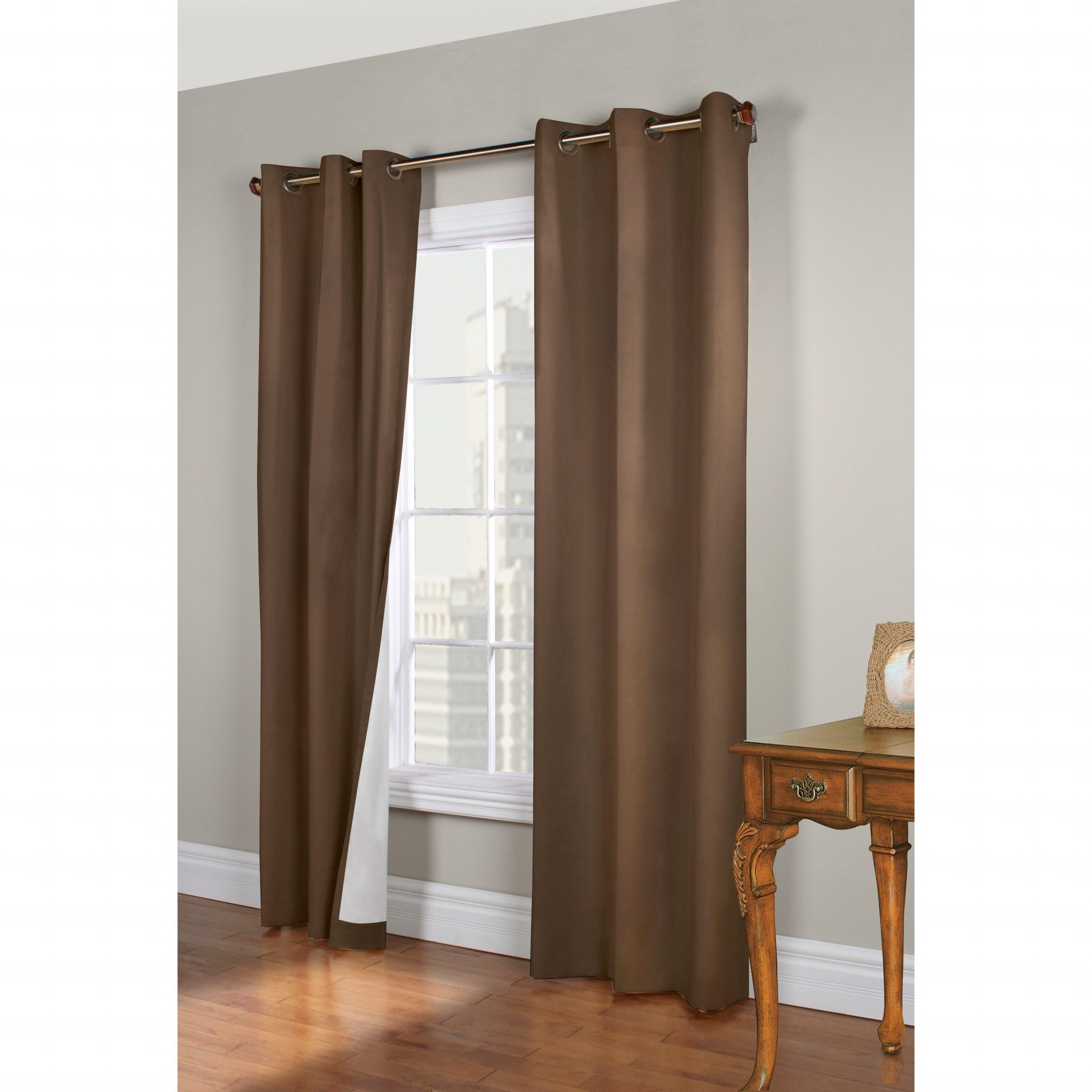 Insulated Cotton Curtain Panel Pairs With Most Up To Date Thermalogic Weathermate Insulated Grommet Curtain Panel Pair (View 7 of 20)