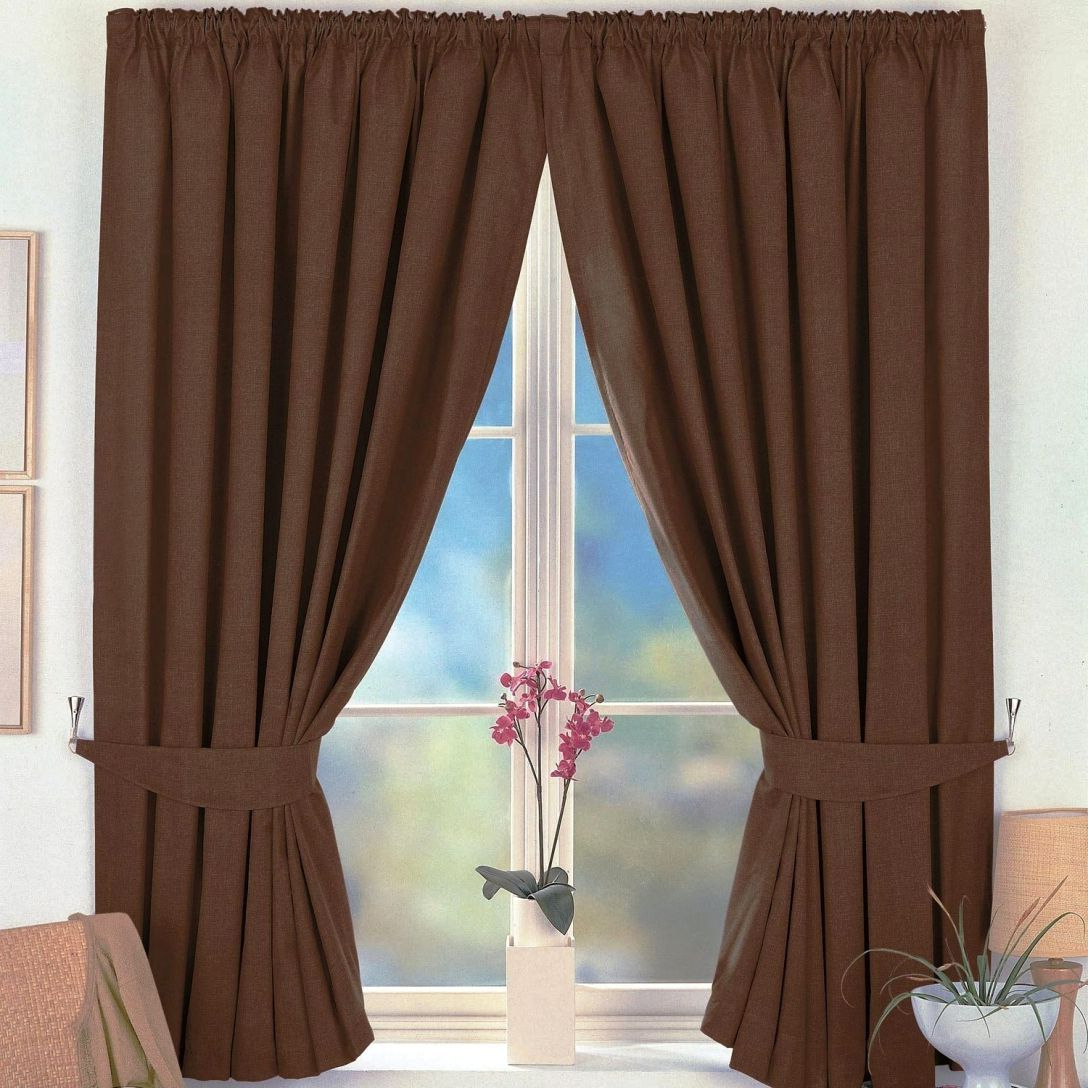 Lambrequin Boho Paisley Cotton Curtain Panels In Well Liked Classy Brown Curtain Panels – Saynomore (View 10 of 20)