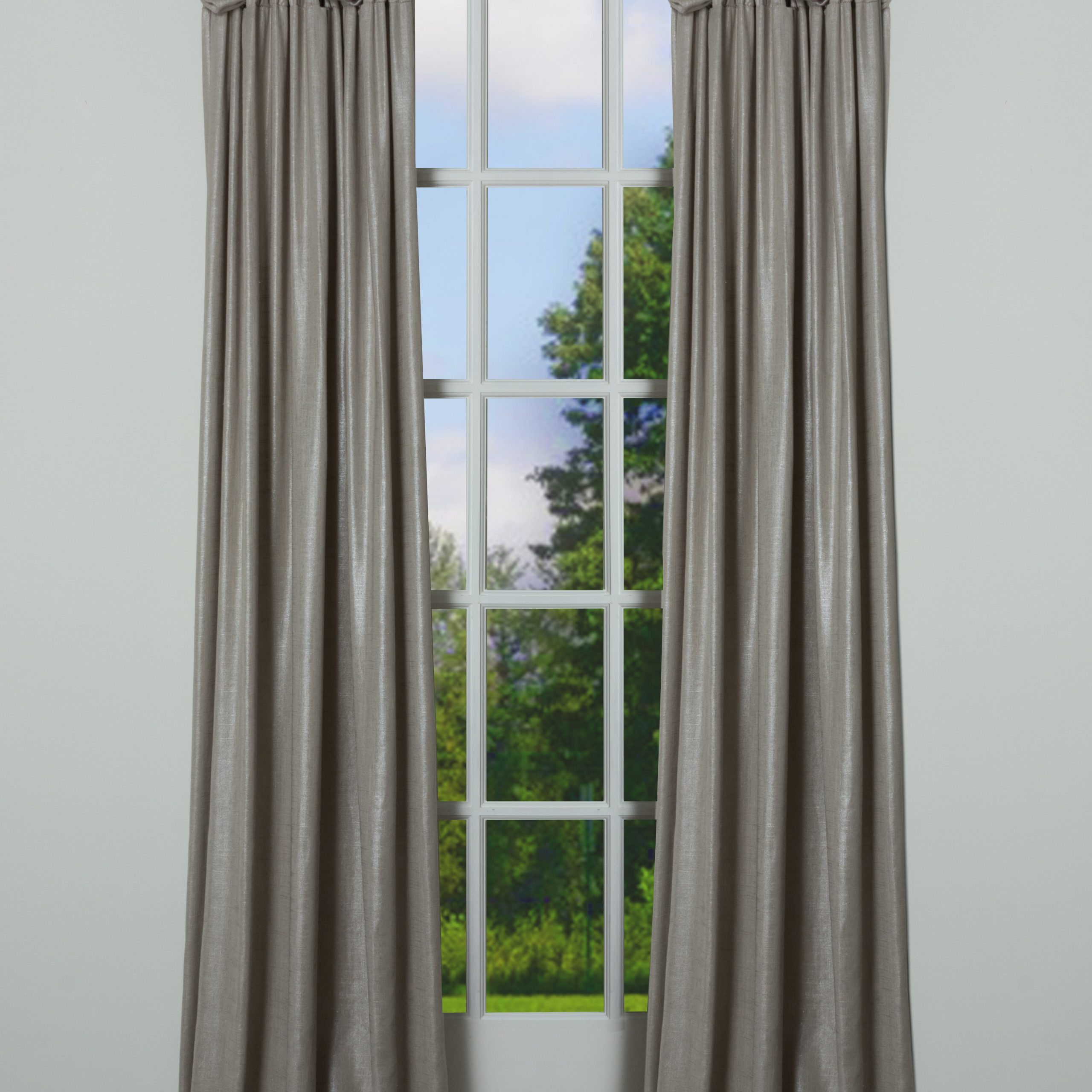 Lark Solid Room Darkening Pinch Pleat Single Curtain Panel Within Latest Solid Cotton Pleated Curtains (View 11 of 20)