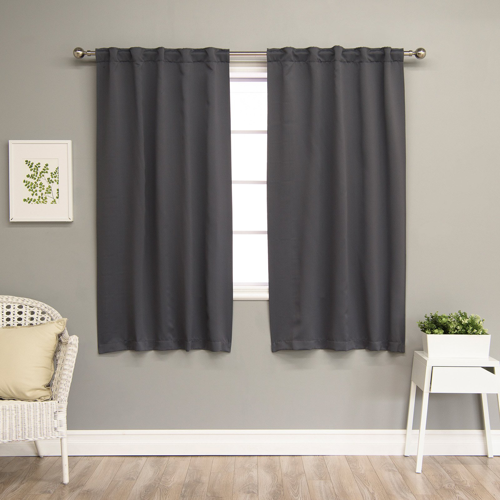 Latest Best Home Fashion Solid Thermal Insulated Blackout Curtain With Solid Thermal Insulated Blackout Curtain Panel Pairs (Gallery 7 of 20)