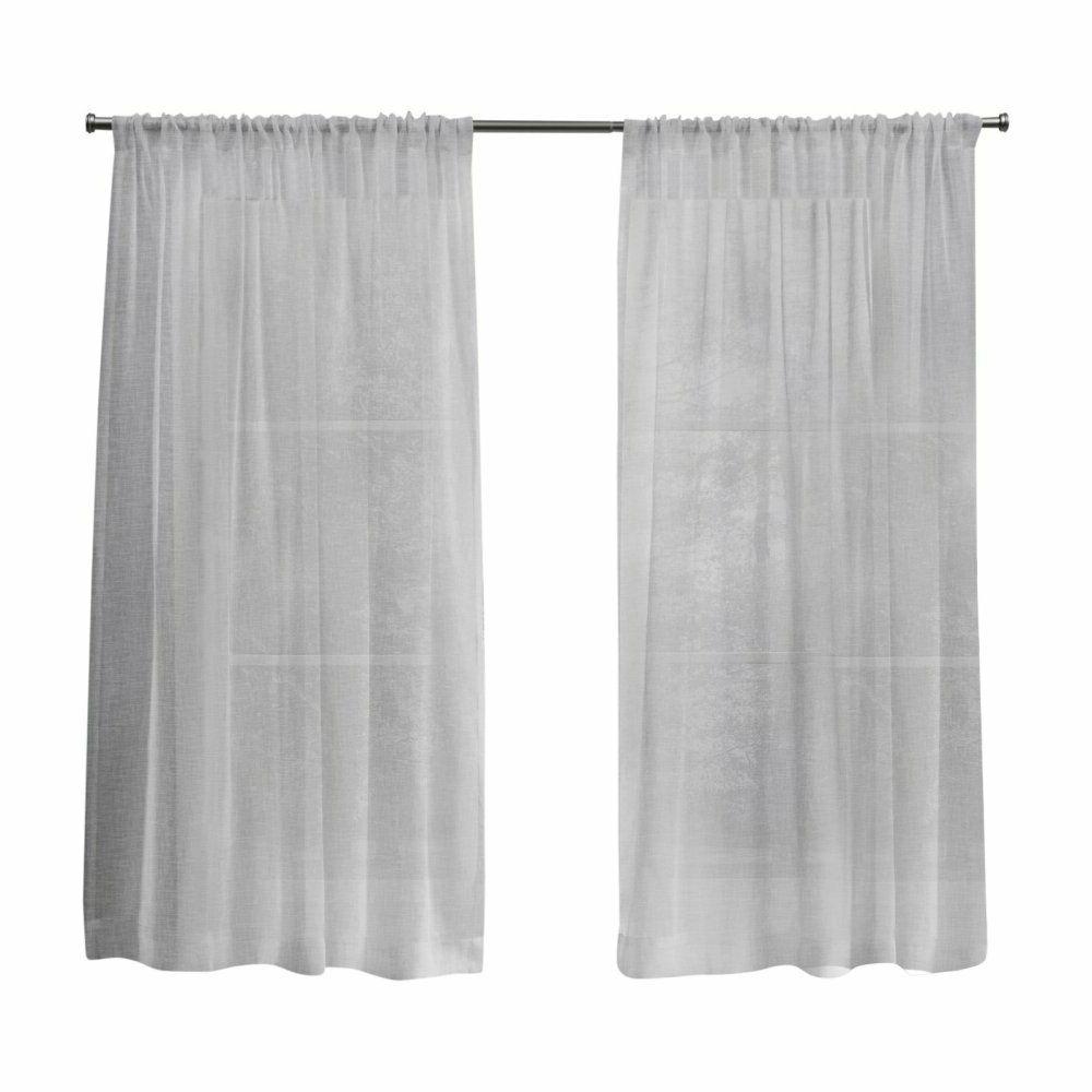 Latest Home Belgian Sheer Rod Pocket Curtain Panel Pair Pertaining To Belgian Sheer Window Curtain Panel Pairs With Rod Pocket (View 10 of 20)