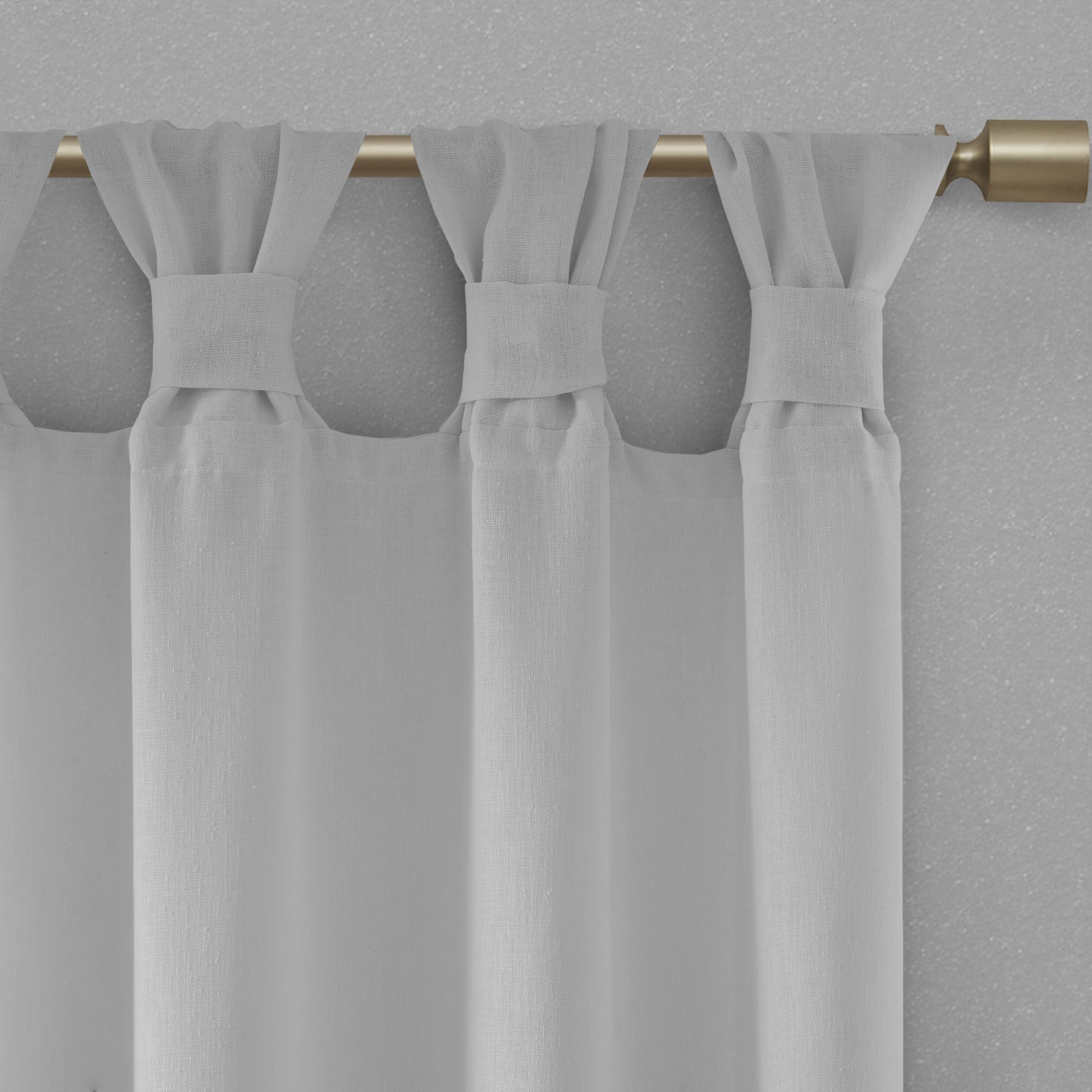 Latest Madison Park Florah Tab Top Sheer Single Curtain Panel In Tab Top Sheer Single Curtain Panels (Gallery 13 of 20)