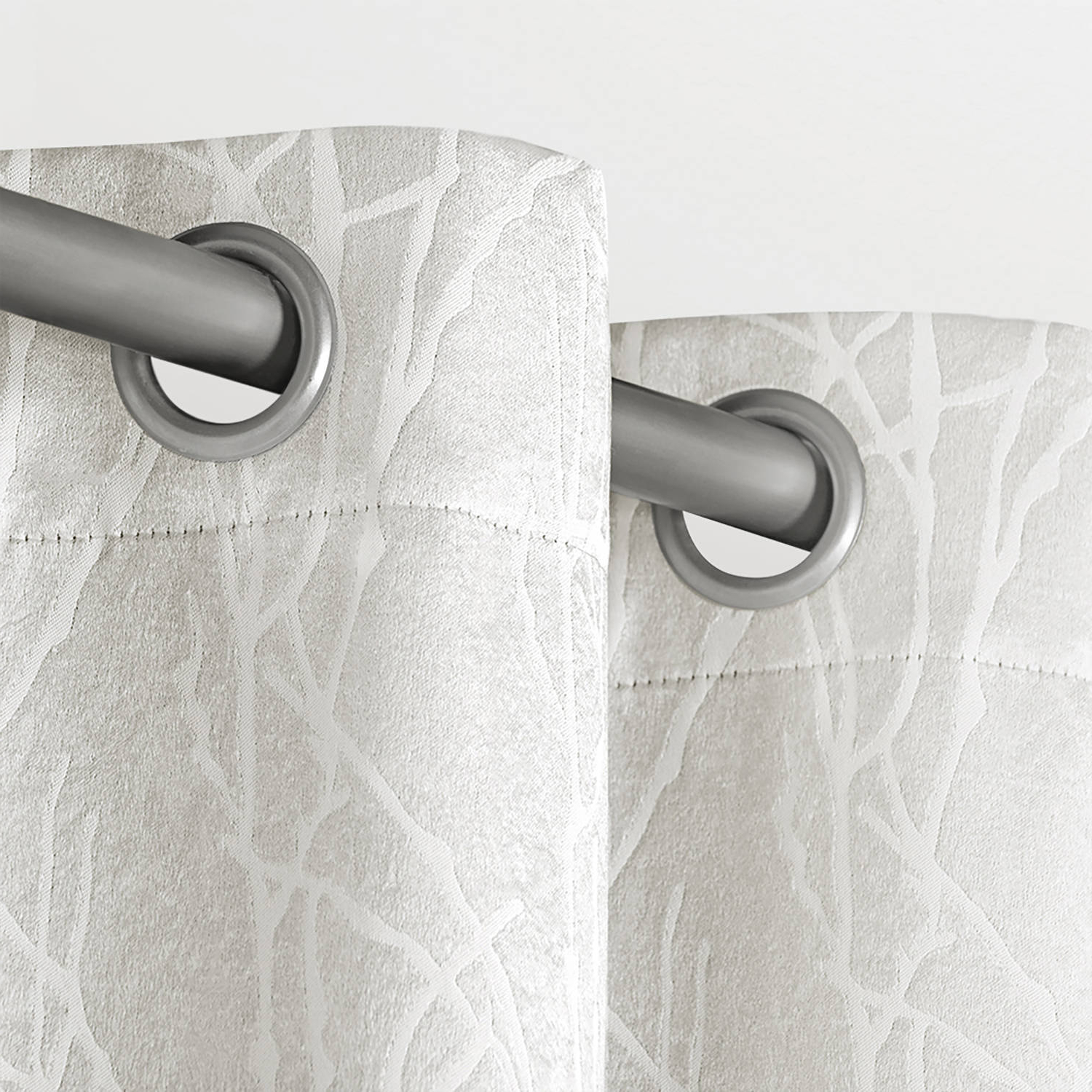 Latest Twig Insulated Blackout Curtain Panel Pairs With Grommet Top In Exclusive Home Twig Insulated Blackout Window Curtain Panel (View 11 of 20)