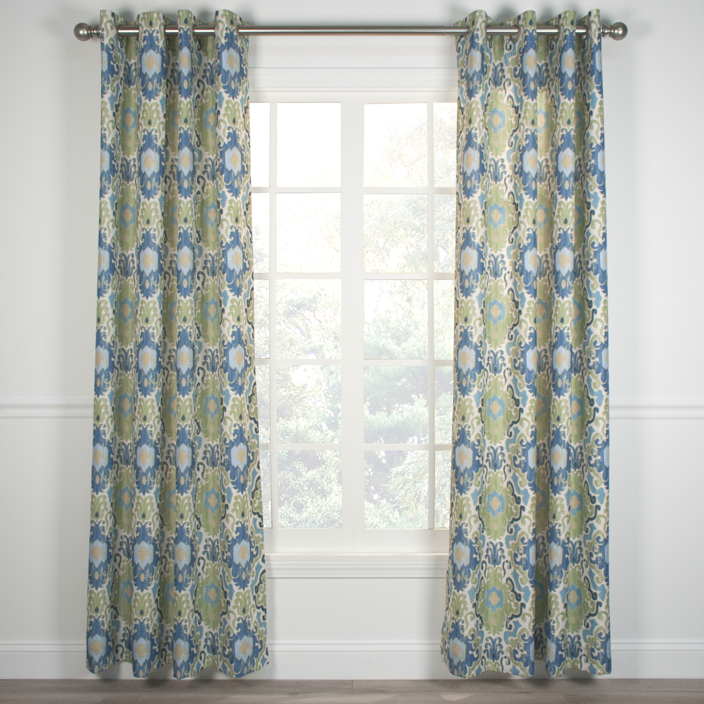 Lined Grommet Curtain Panels Pertaining To Newest Tuscany Grommet Top Curtain Panel (View 18 of 20)
