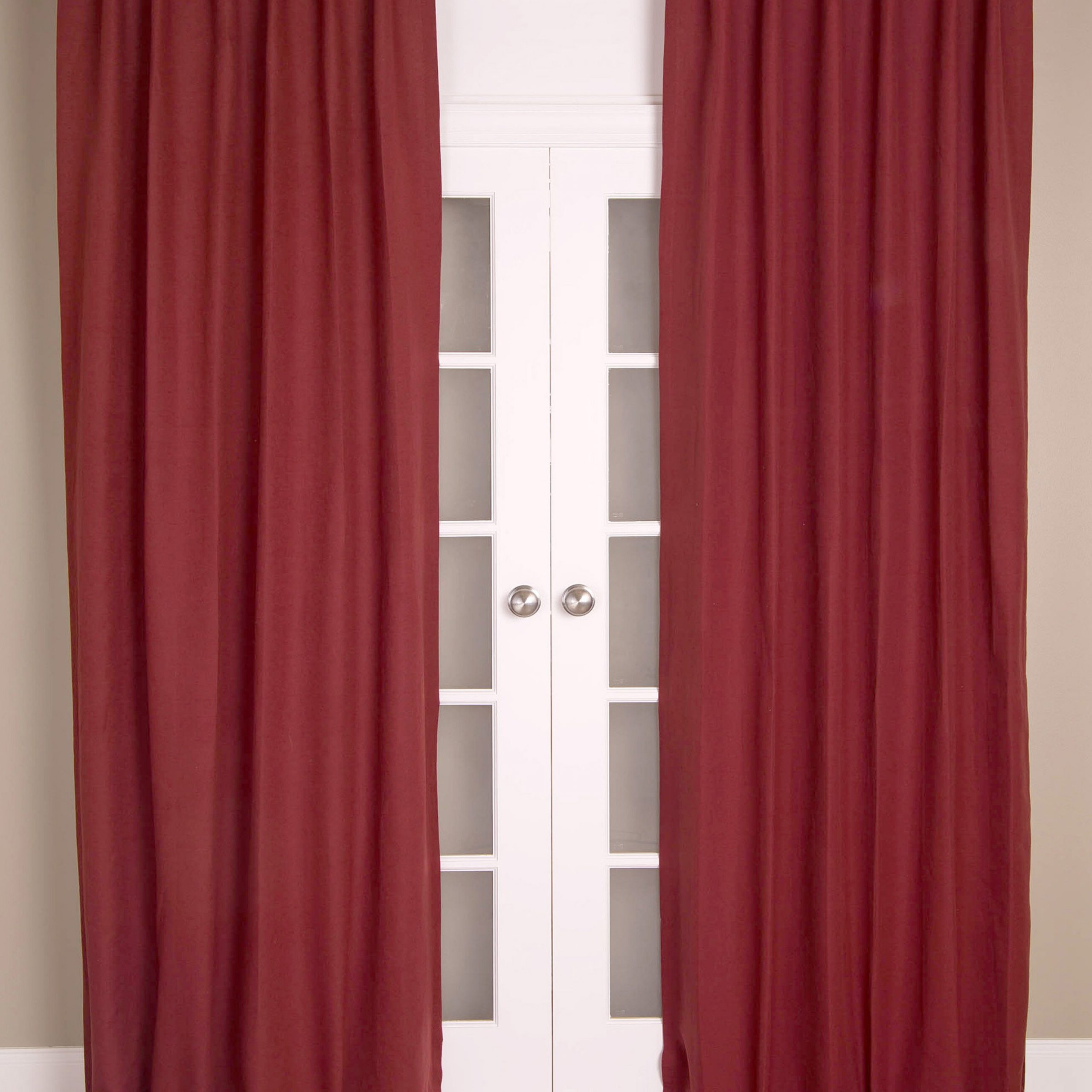Linen Solid Room Darkening Rod Pocket Single Curtain Panel Within 2021 Hayden Grommet Blackout Single Curtain Panels (View 16 of 20)