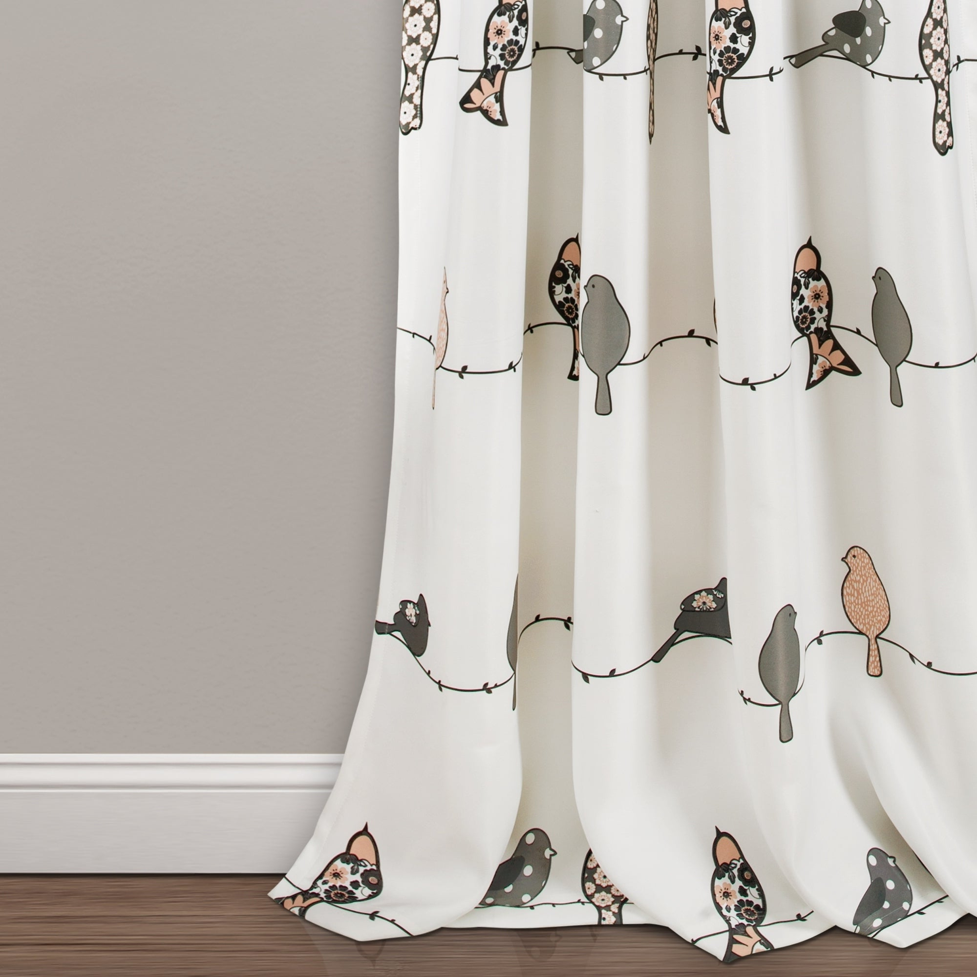 Lush Decor Rowley Birds Room Darkening Curtain Panel Pair Intended For Recent Rowley Birds Room Darkening Curtain Panel Pairs (View 8 of 20)