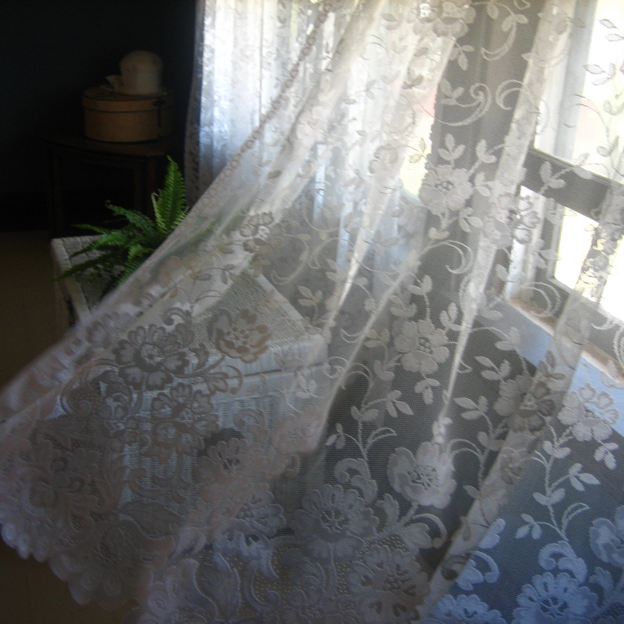 Luxurious Old World Style Lace Window Curtain Panels In 2021 Curtain – Wikipedia (View 14 of 20)