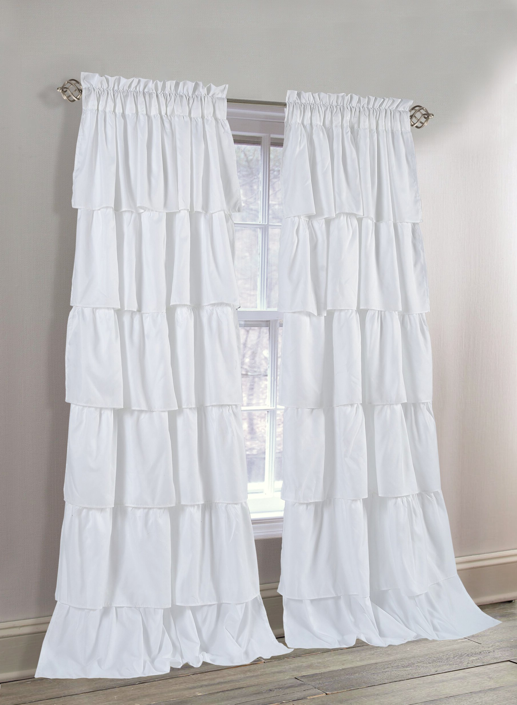 Luxury Collection Cranston Sheer Curtain Panel Pairs With Regard To Best And Newest Azariah Solid Semi Sheer Rod Pocket Curtain Panels (View 14 of 20)