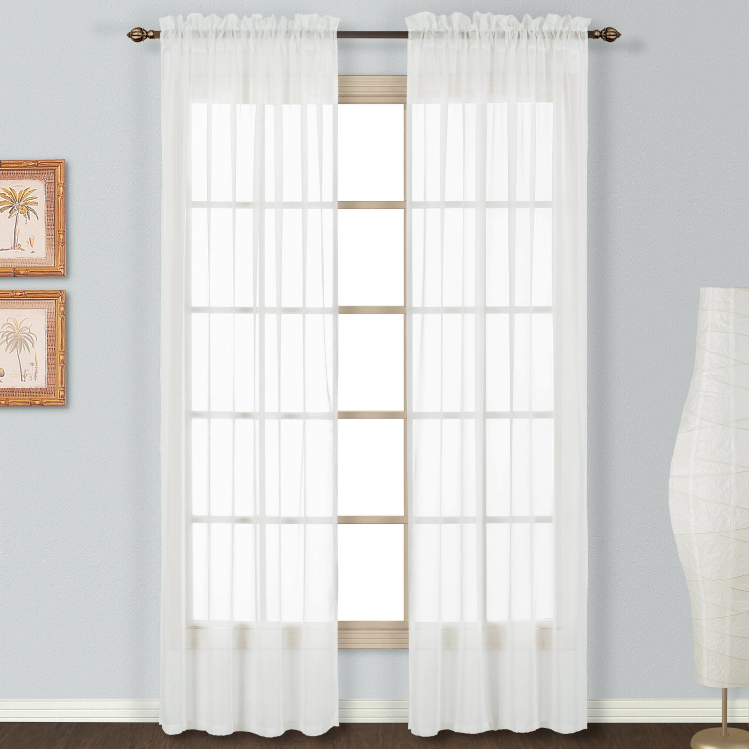Featured Photo of Luxury Collection Monte Carlo Sheer Curtain Panel Pairs