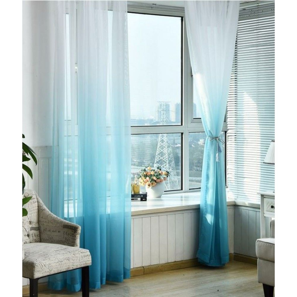 Luxury Ombre Sheer Curtains (View 5 of 20)