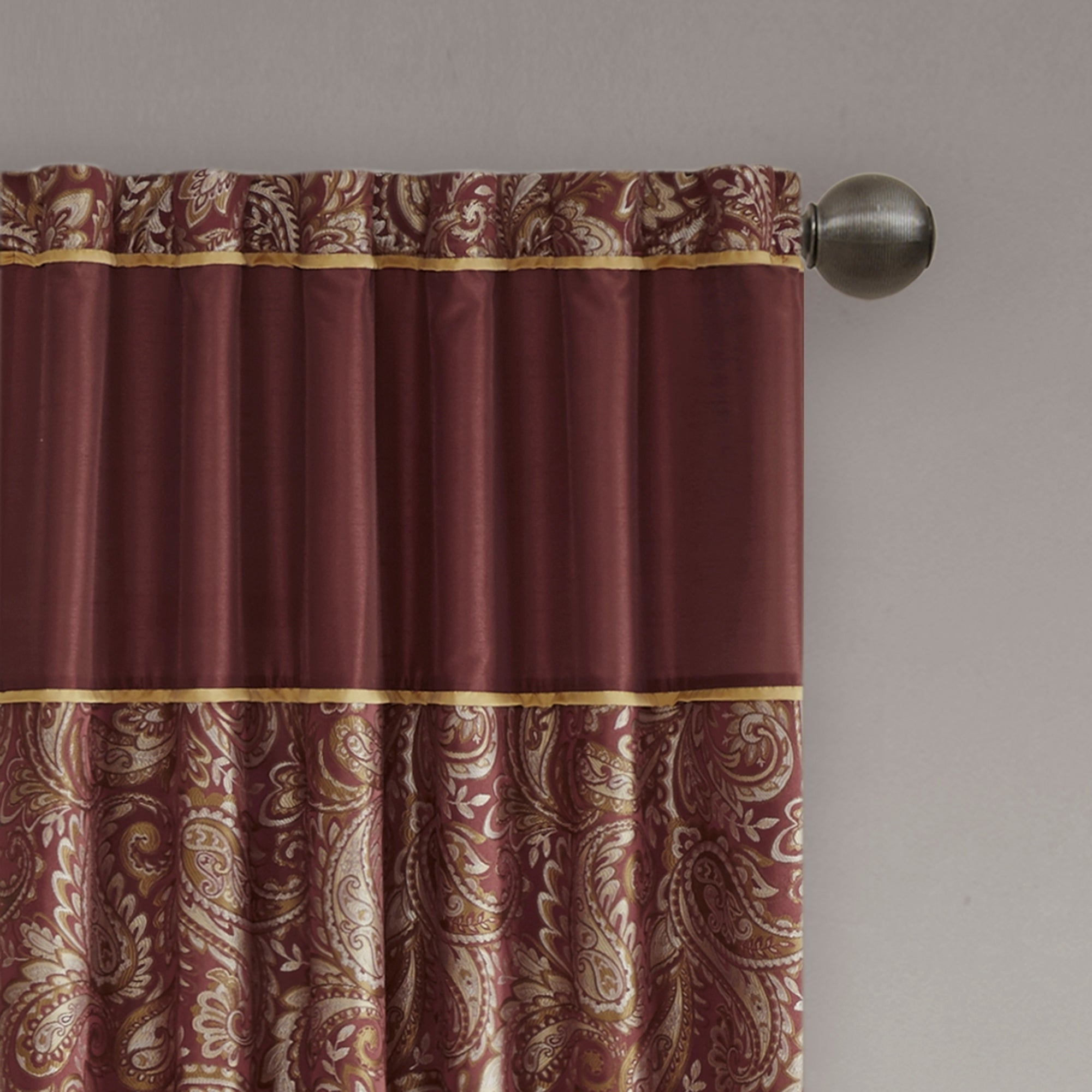 Madison Park Whitman Curtain Panel Pair Pertaining To 2020 Whitman Curtain Panel Pairs (View 13 of 20)