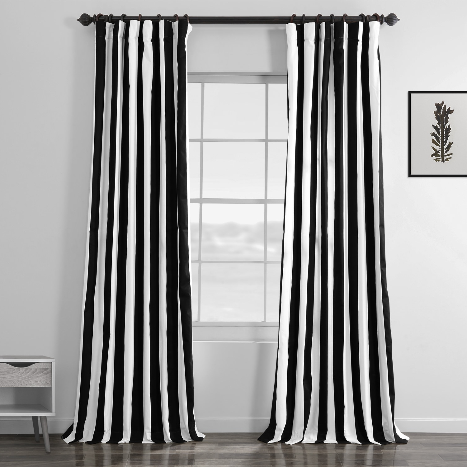 Mecca Printed Cotton Single Curtain Panels With Regard To Favorite Cabana Black Printed Cotton Curtain (Gallery 16 of 21)