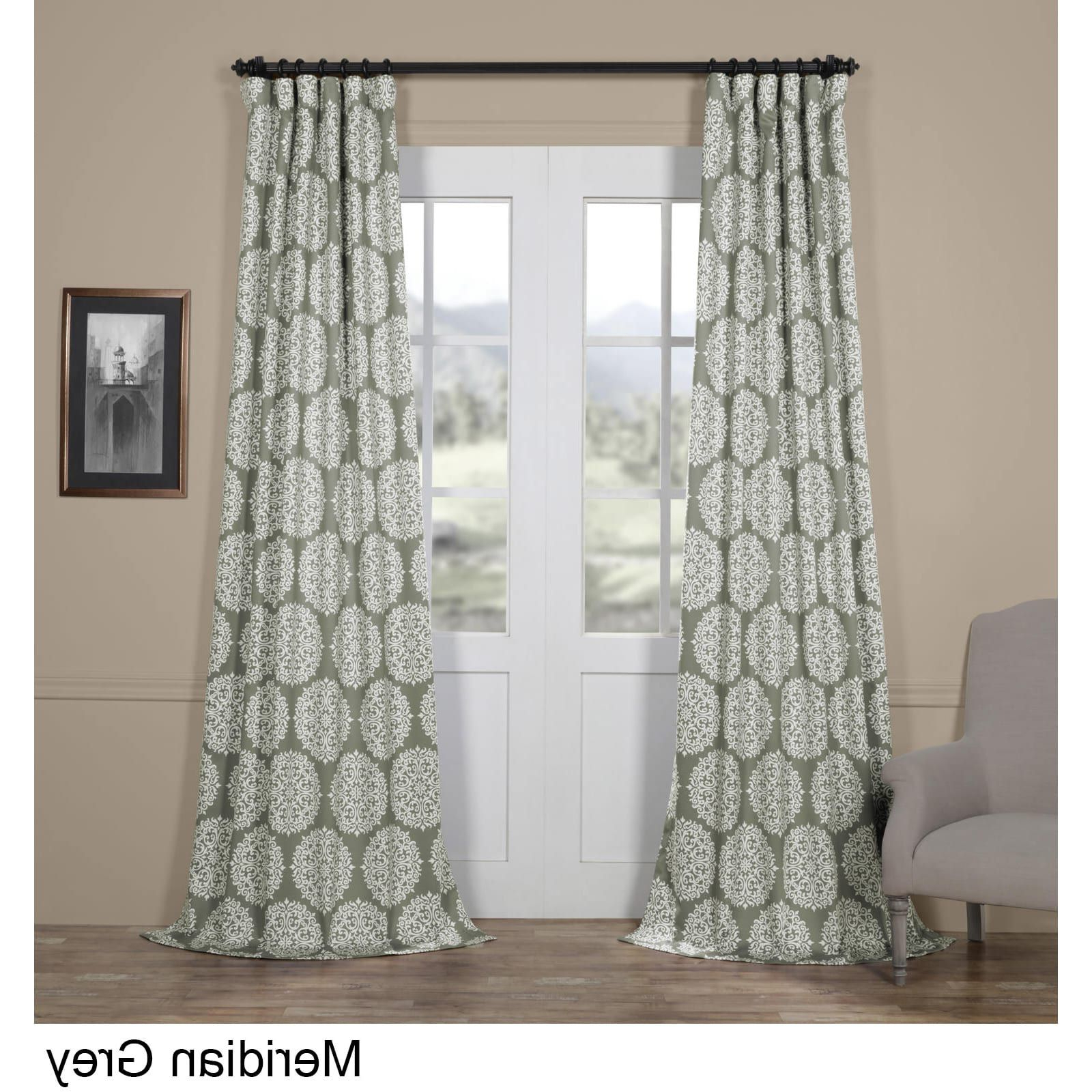 Meridian Blackout Window Curtain Panels Throughout Most Up To Date Exclusive Fabrics Meridian Blackout Curtain Panel Pair (50 X (View 19 of 20)