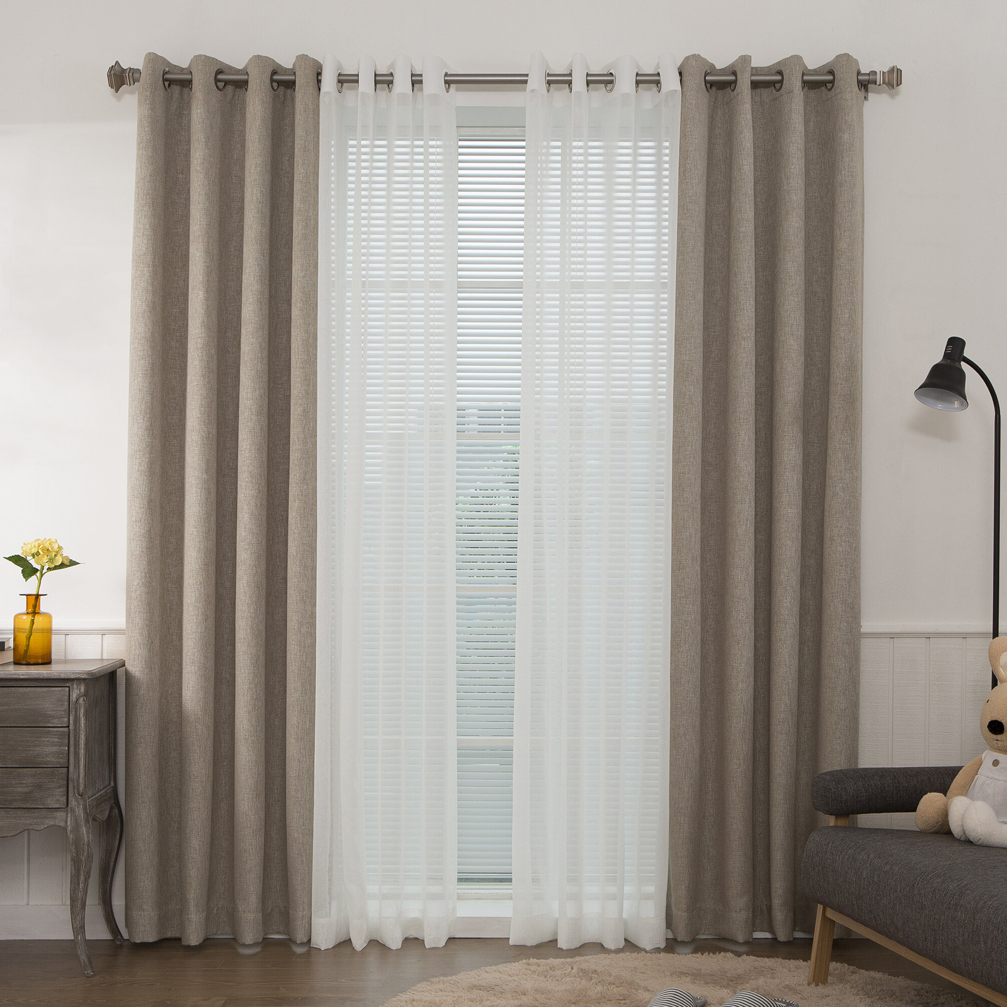 Mix And Match Blackout Blackout Curtains Panel Sets With Regard To Best And Newest Best Home Fashion, Inc (View 4 of 20)