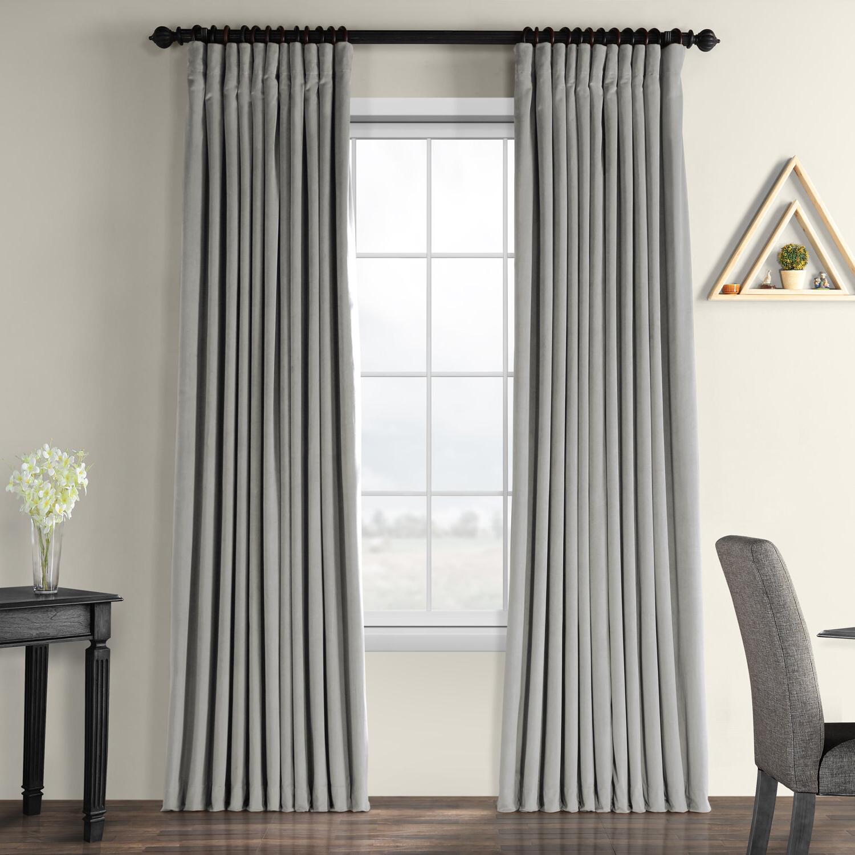 Modern Velvet Curtains + Drapes (View 20 of 20)