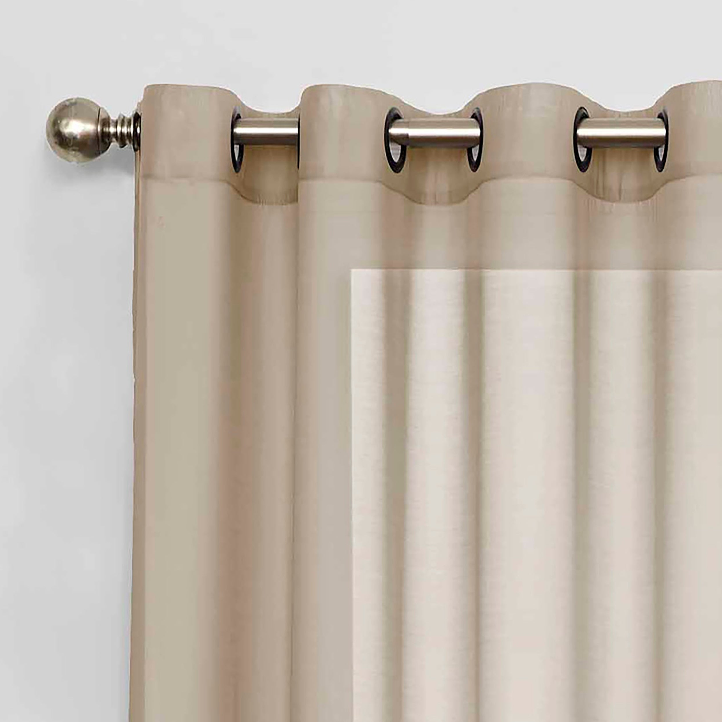 Most Current Eclipse Liberty Light Filtering Sheer Single Curtain Panel Regarding Light Filtering Sheer Single Curtain Panels (Gallery 9 of 20)