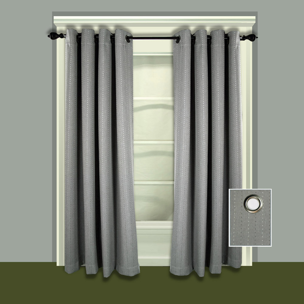 Most Current Grand Pointe Single Grommet Panel – Room Darkening And Insulated Inside Grommet Room Darkening Curtain Panels (Gallery 15 of 20)