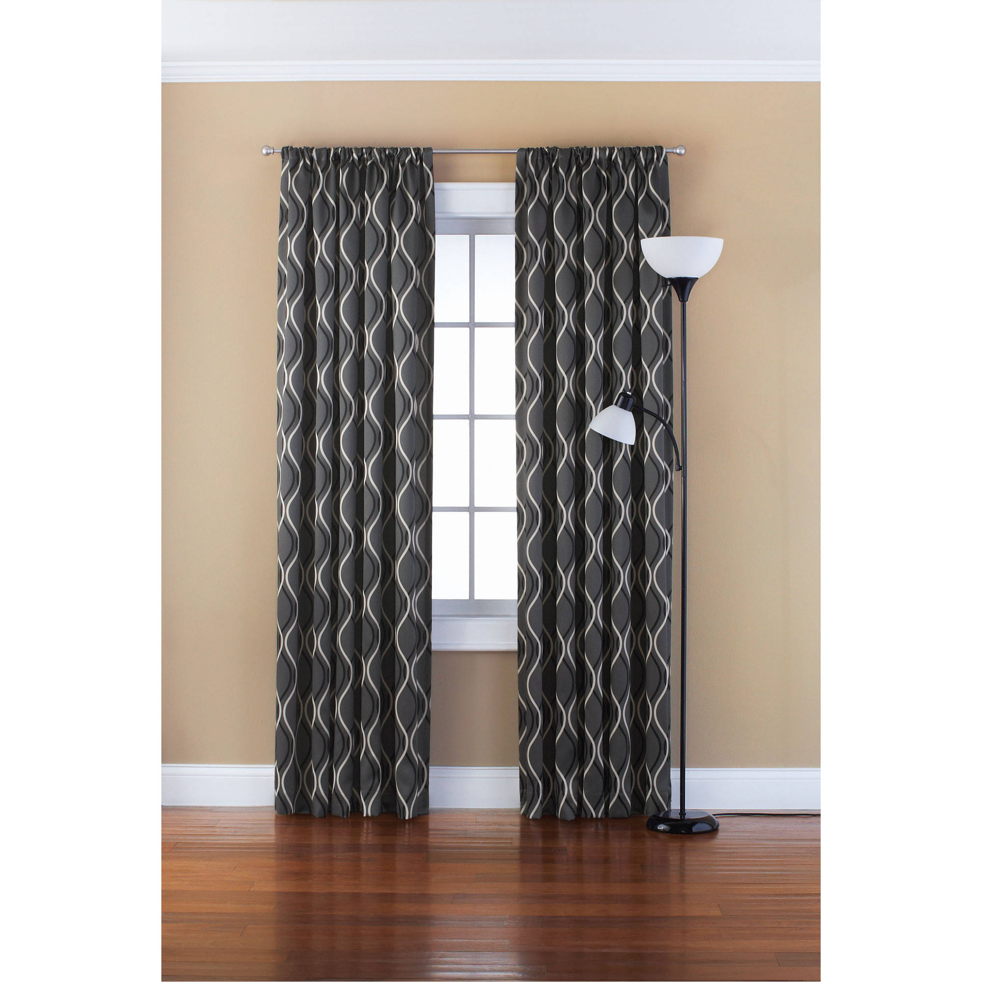 Most Popular Eclipse Solid Thermapanel Room Darkening Curtain Panel Regarding Eclipse Solid Thermapanel Room Darkening Single Panel (Gallery 17 of 20)