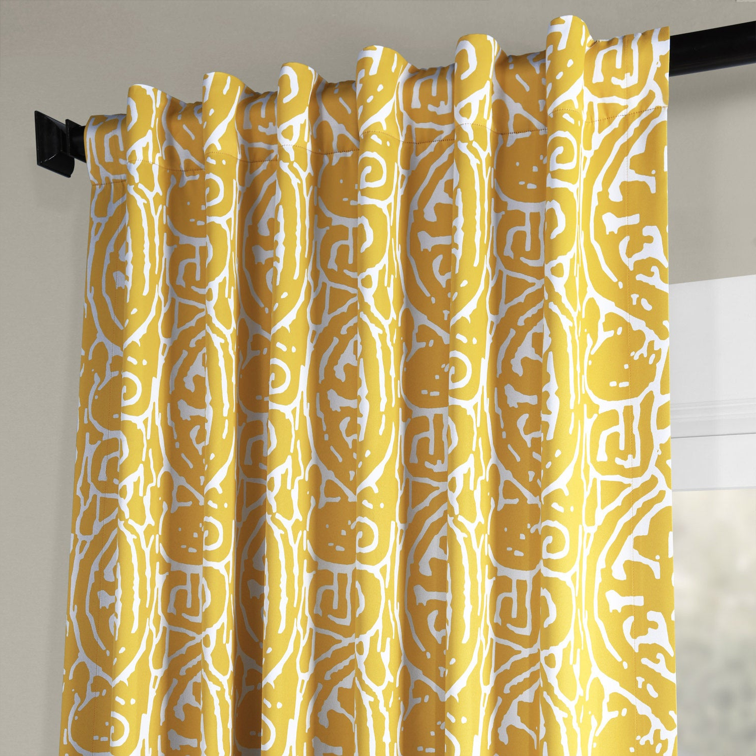Most Popular Exclusive Fabrics Abstract Blackout Curtain Panel Pair Regarding Abstract Blackout Curtain Panel Pairs (View 16 of 20)