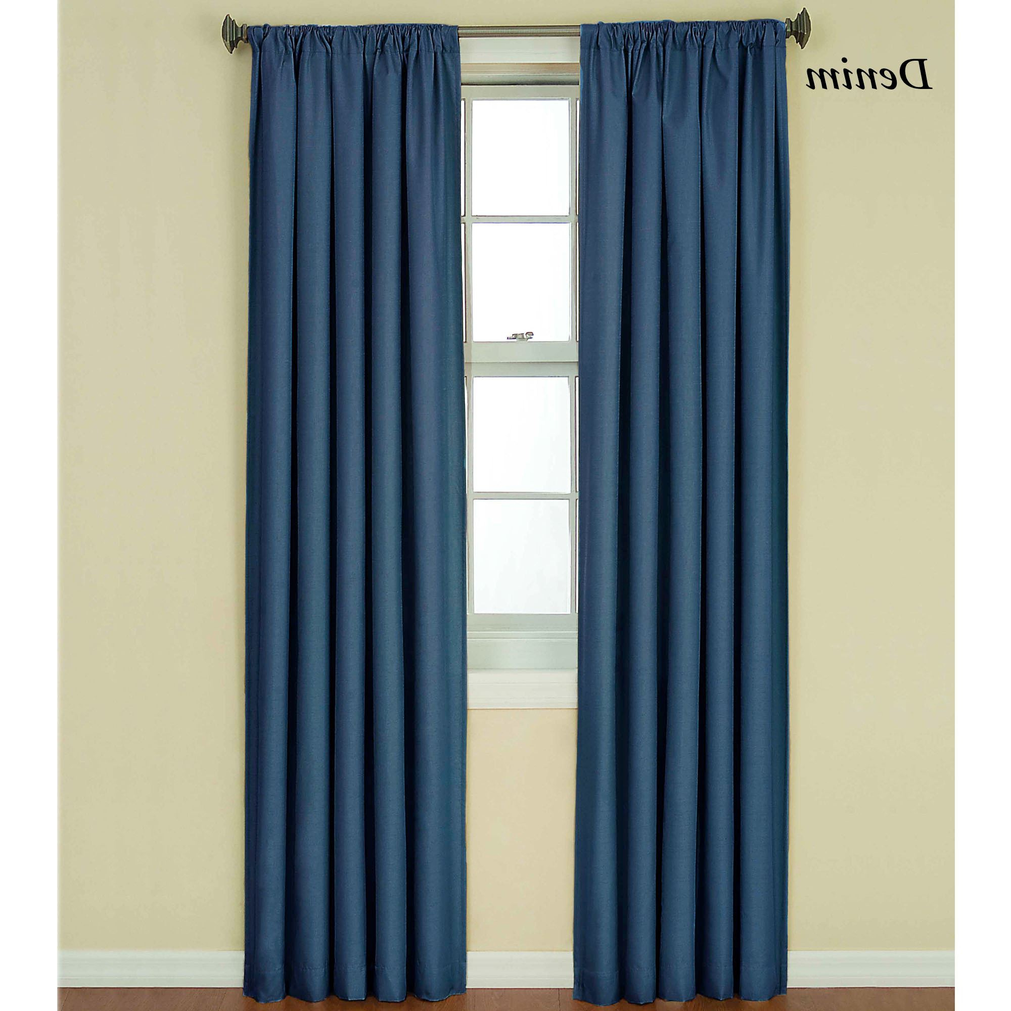 Most Popular Kendall Bright Thermaback(tm) Blackout Curtain Panel Inside Eclipse Kendall Blackout Window Curtain Panels (View 19 of 20)