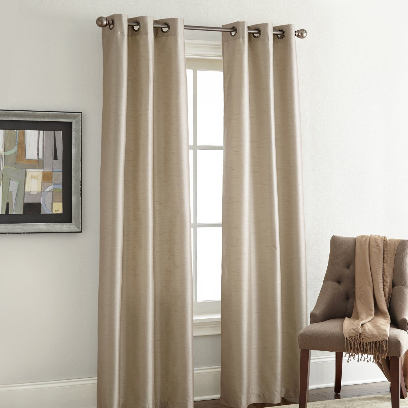 Most Popular Overseas Faux Silk Blackout Curtain Panel Pairs With Amrapur Overseas Faux Silk Blackout Curtain Panel Pair (Gallery 5 of 20)