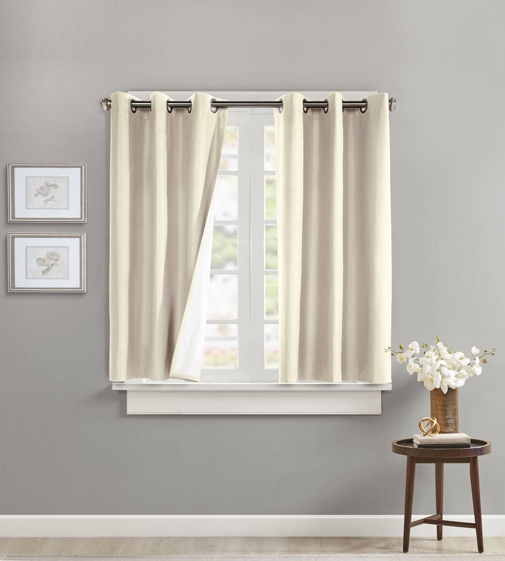 Most Popular Prescott Insulated Grommet Top Curtains, Thermal Curtains Pertaining To Prescott Insulated Tie Up Window Shade (View 14 of 20)