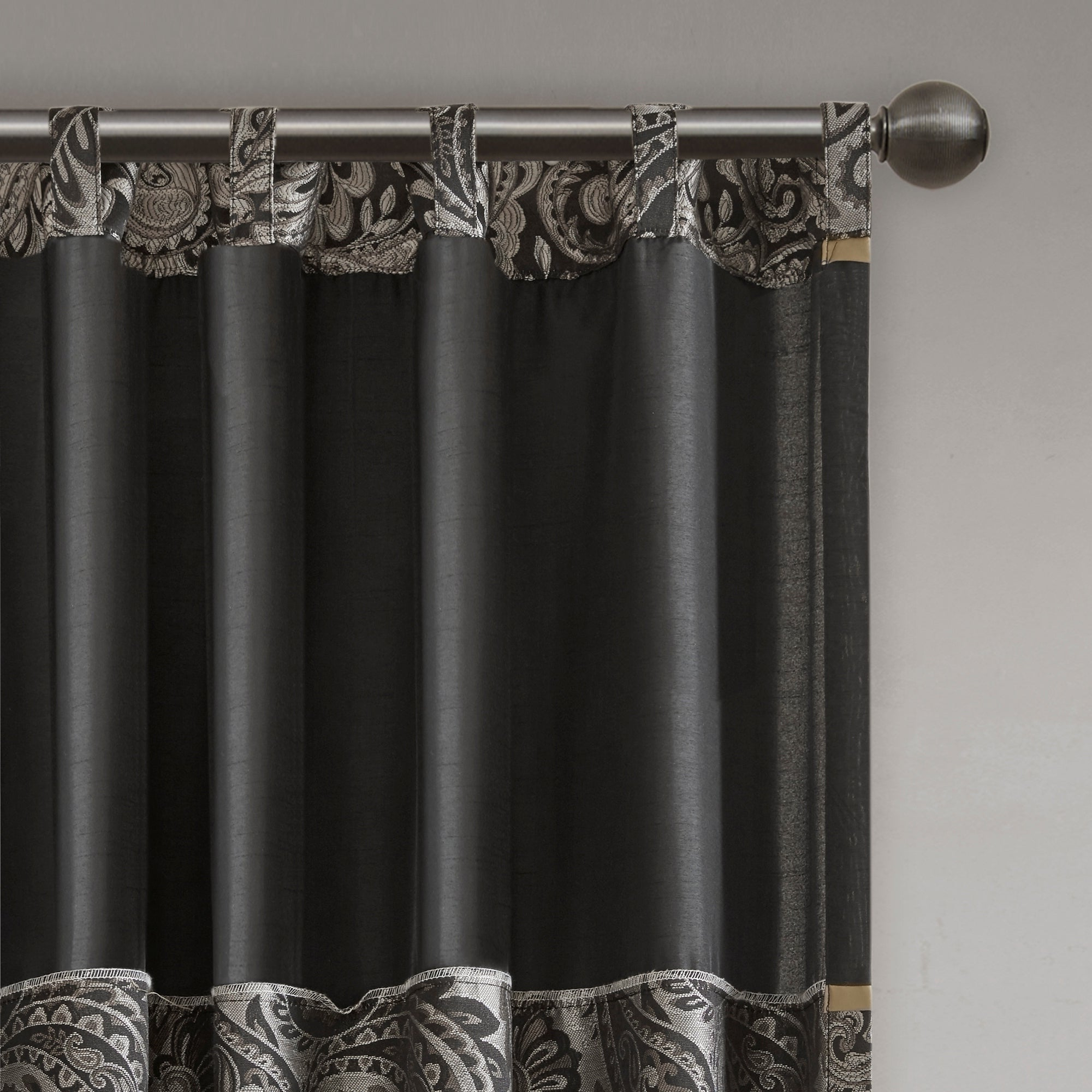 Most Popular Whitman Curtain Panel Pairs Pertaining To Madison Park Whitman Curtain Panel Pair (View 7 of 20)