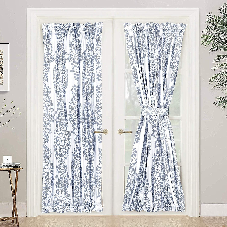 Most Recent Driftaway Samantha Rod Pocket Room Darkening Patio French Door Single  Curtain Panel Intended For Nantahala Rod Pocket Room Darkening Patio Door Single Curtain Panels (Gallery 18 of 20)