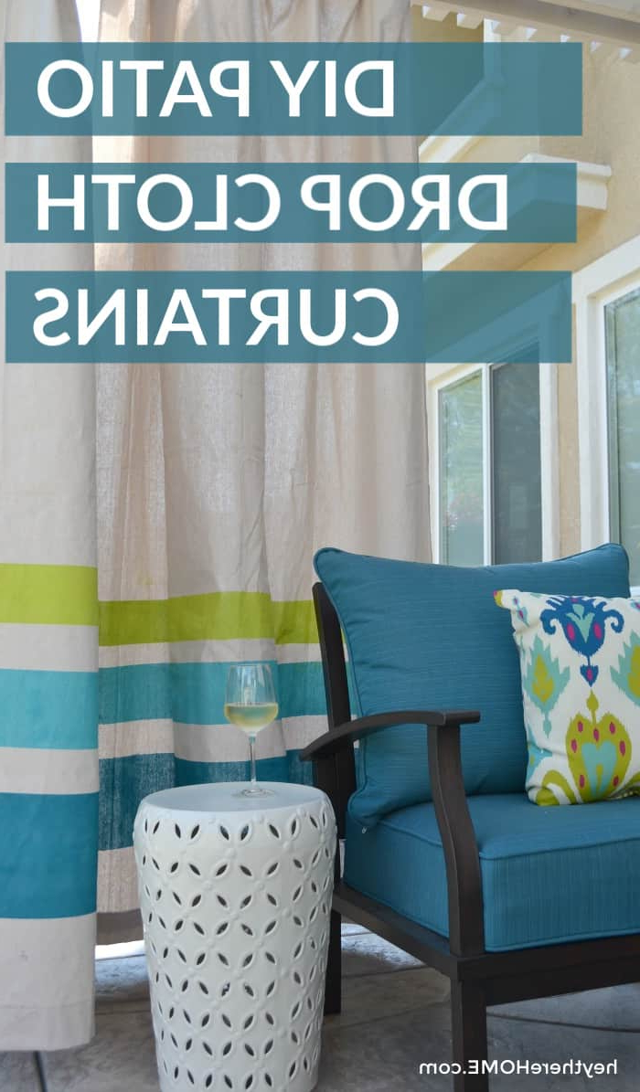 Most Recent Matine Indoor/outdoor Curtain Panels For Diy Outdoor Curtains Tutorial (View 20 of 20)