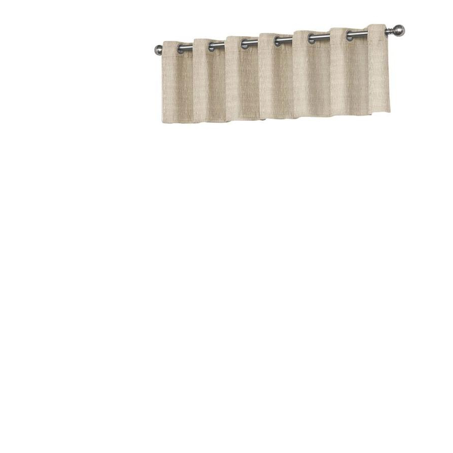 Most Recently Released Eclipse Trevi Blackout Grommet Window Curtain Panels For Eclipse Trevi 18 In Natural Polyester Grommet Valance At (View 12 of 20)