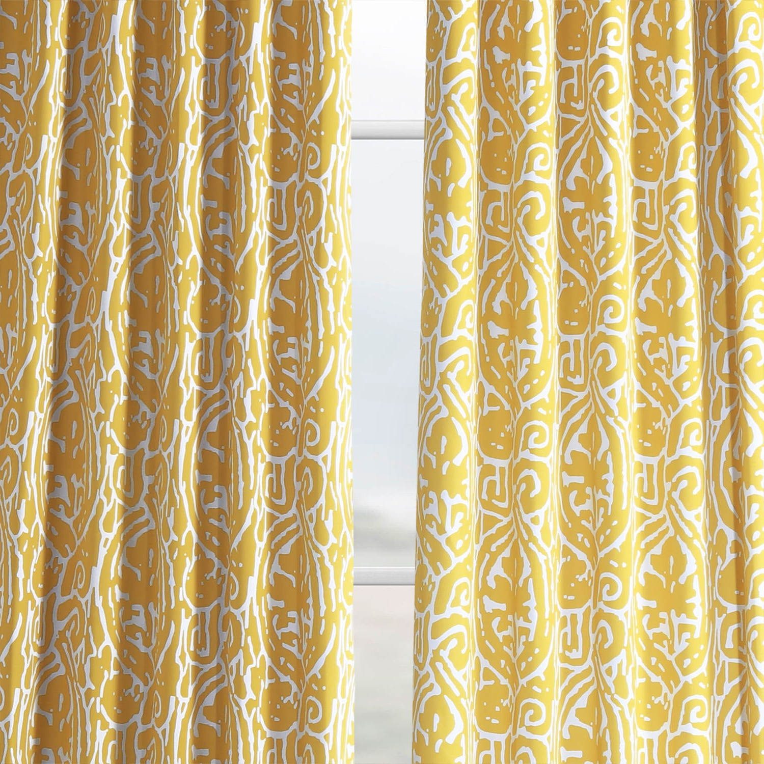 Most Recently Released Exclusive Fabrics Abstract Blackout Curtain Panel Pair Pertaining To Abstract Blackout Curtain Panel Pairs (Gallery 13 of 20)