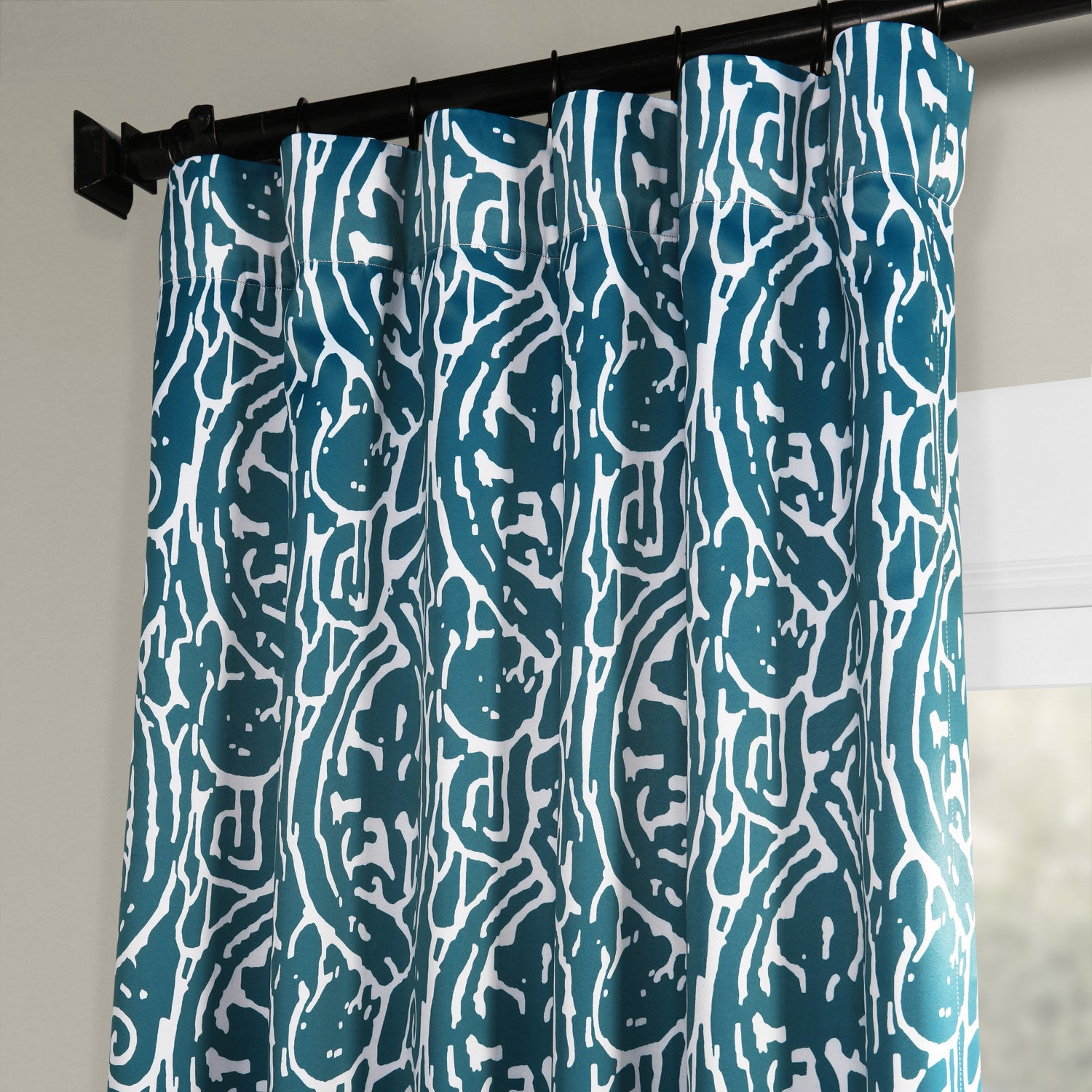 Most Recently Released Exclusive Fabrics Abstract Blackout Curtain Panel Pair Regarding Abstract Blackout Curtain Panel Pairs (View 17 of 20)