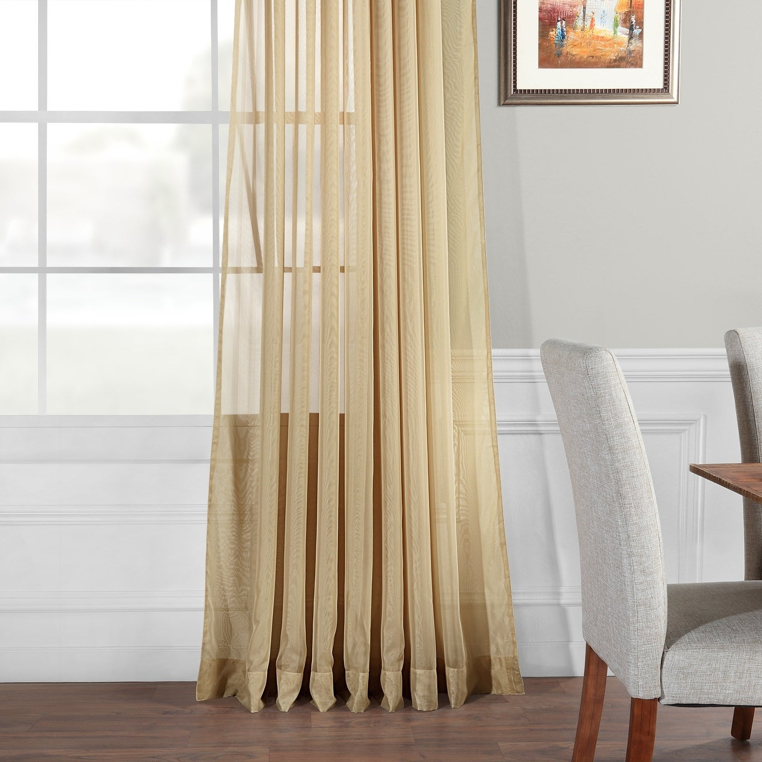Most Recently Released Exclusive Fabrics Signature Extrawide Double Layer Sheer Curtain Panel For Signature Extrawide Double Layer Sheer Curtain Panels (View 5 of 20)