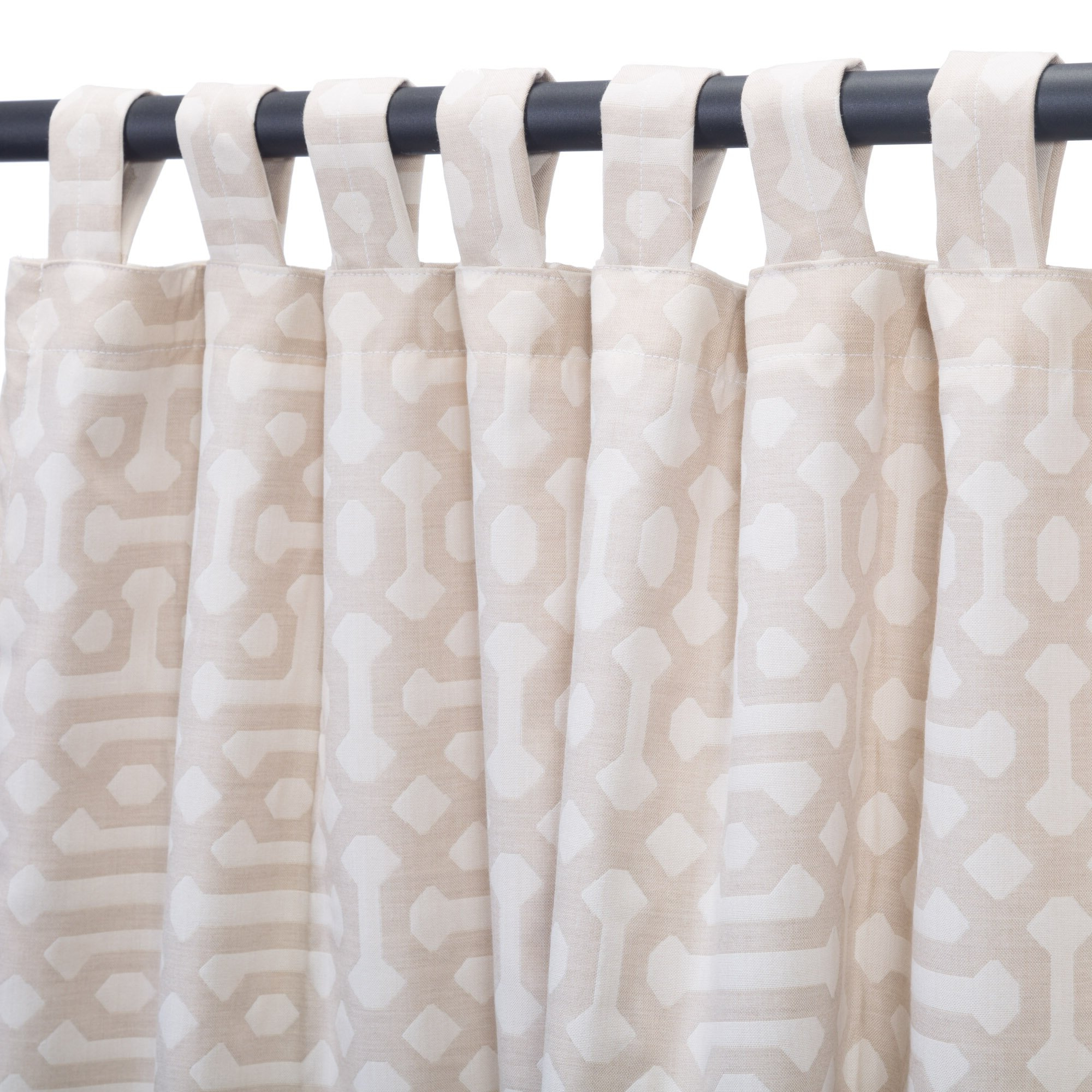 Most Recently Released Fretwork Print Pattern Single Curtain Panels Throughout Shanon Outdoor Single Curtain Panel (View 12 of 20)
