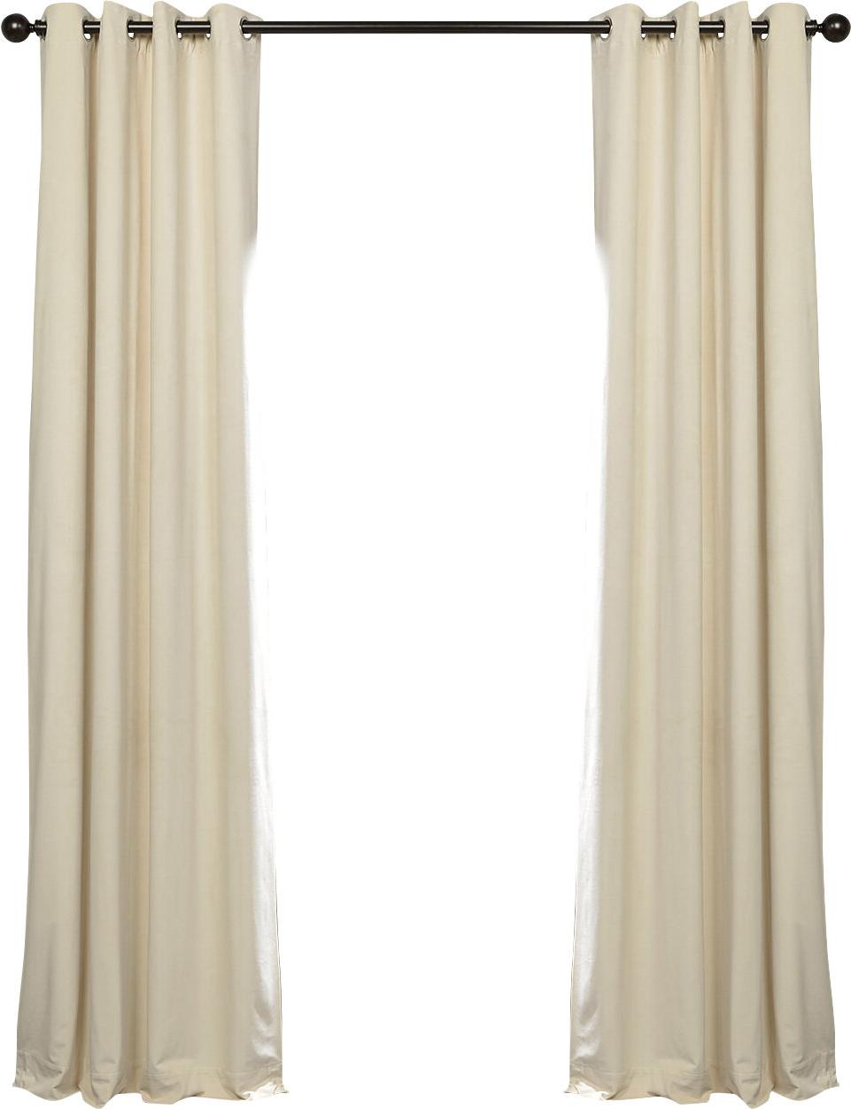 Most Recently Released Sharpe Solid Velvet Blackout Grommet Single Curtain Panel Inside Heritage Plush Velvet Single Curtain Panels (View 20 of 20)
