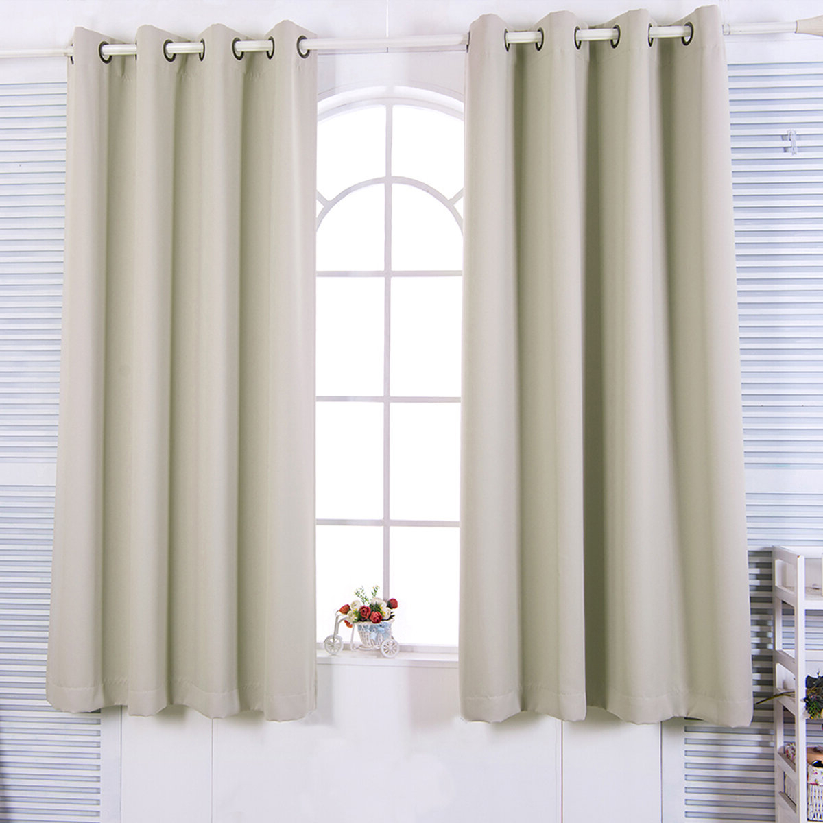 Most Recently Released Solid Insulated Thermal Blackout Curtain Panel Pairs In August Grove Victor Solid Blackout Thermal Grommet Curtain (View 20 of 20)