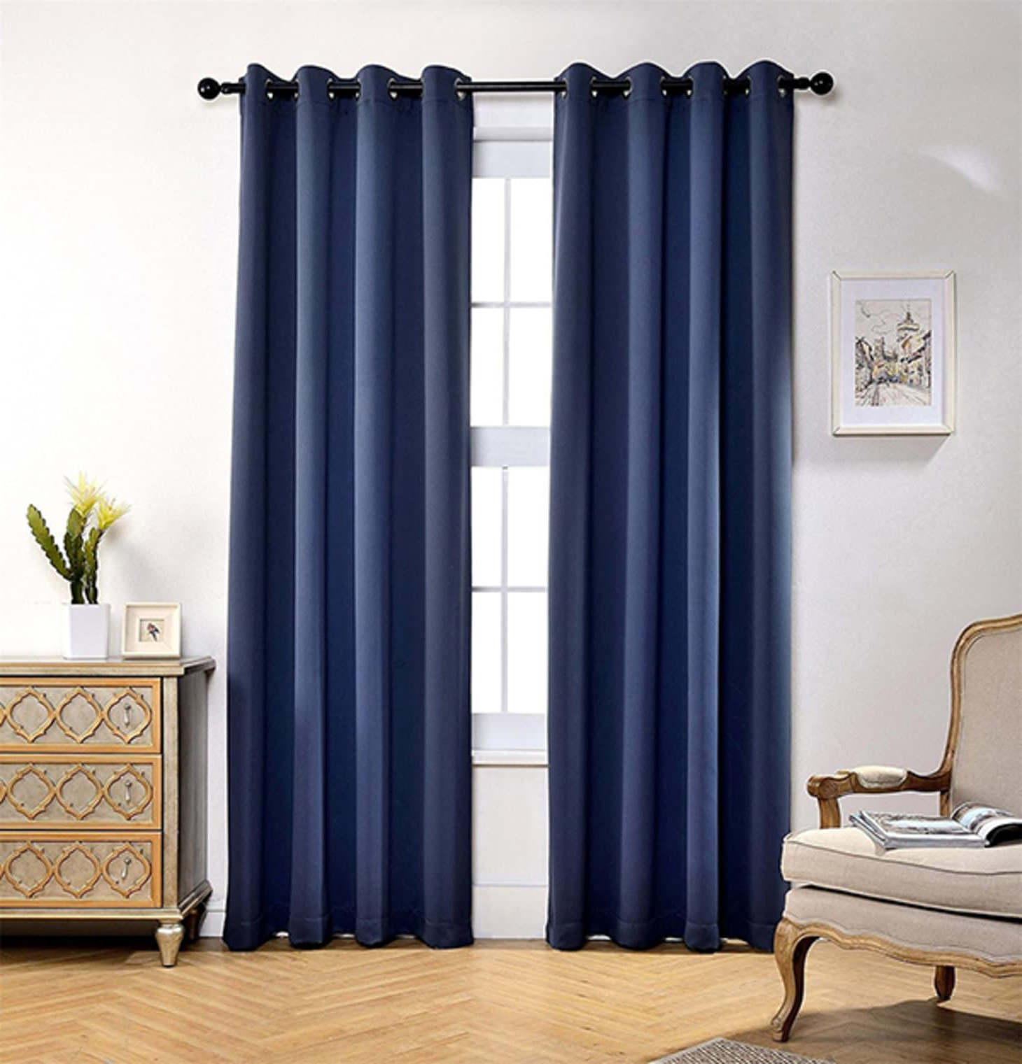 Most Recently Released Solid Insulated Thermal Blackout Long Length Curtain Panel Pairs For Best Insulated Blackout Curtains (View 20 of 20)