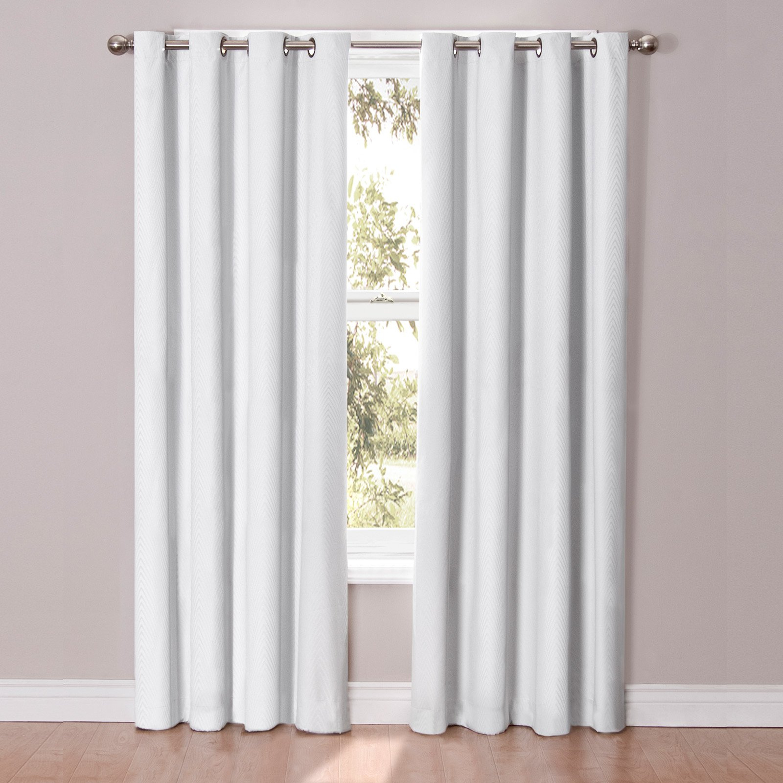 Most Recently Released Thermaback Blackout Window Curtains In Eclipse Cassidy Blackout Grommet Window Curtain Panel (View 12 of 20)