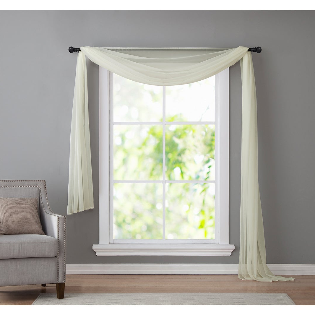 Most Recently Released Vcny Infinity Sheer Rod Pocket Curtain Panel For Infinity Sheer Rod Pocket Curtain Panels (View 17 of 20)