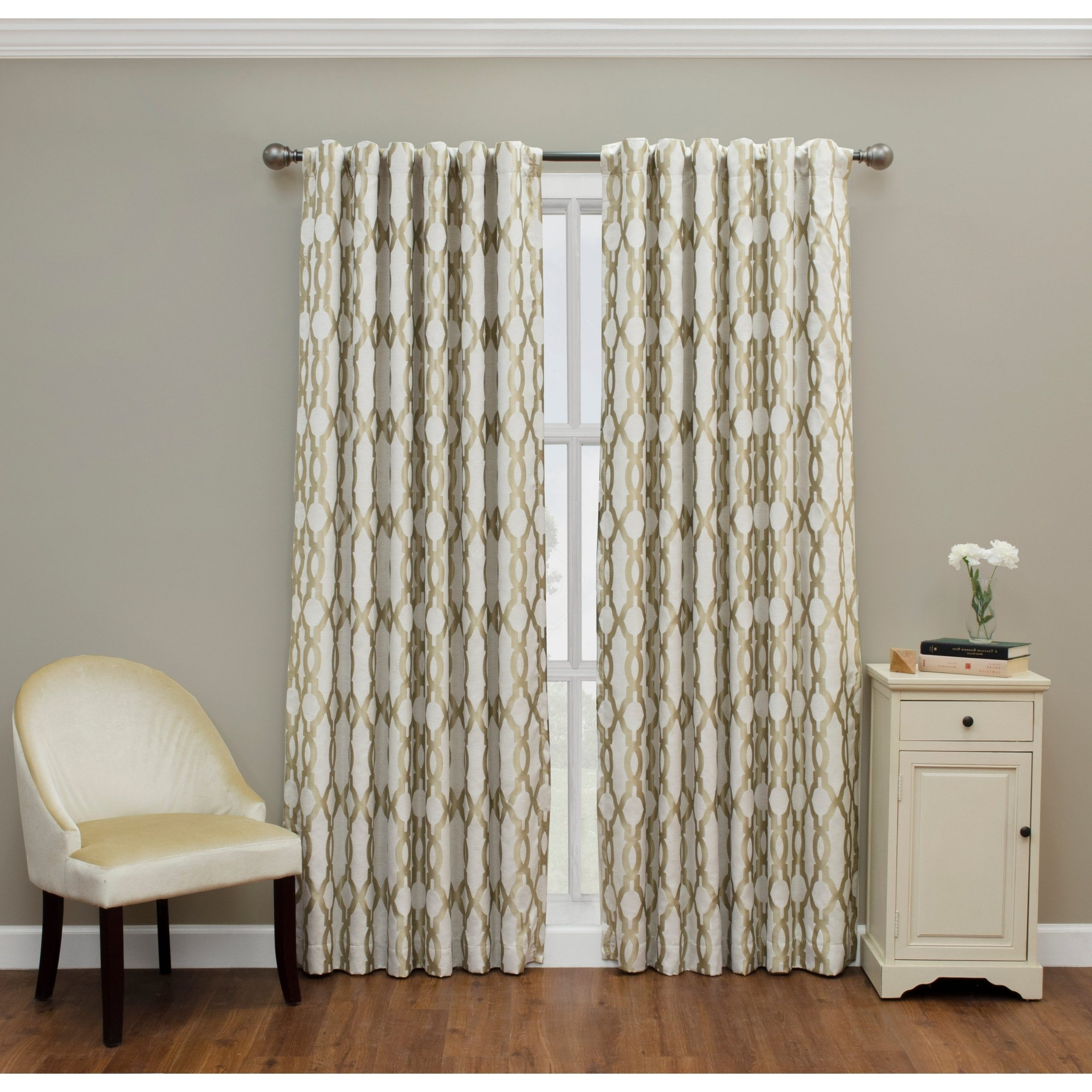 Most Up To Date Eclipse Caprese Thermalayer Blackout Window Curtains Inside Eclipse Dixon Thermalayer Blackout Curtain (View 11 of 20)