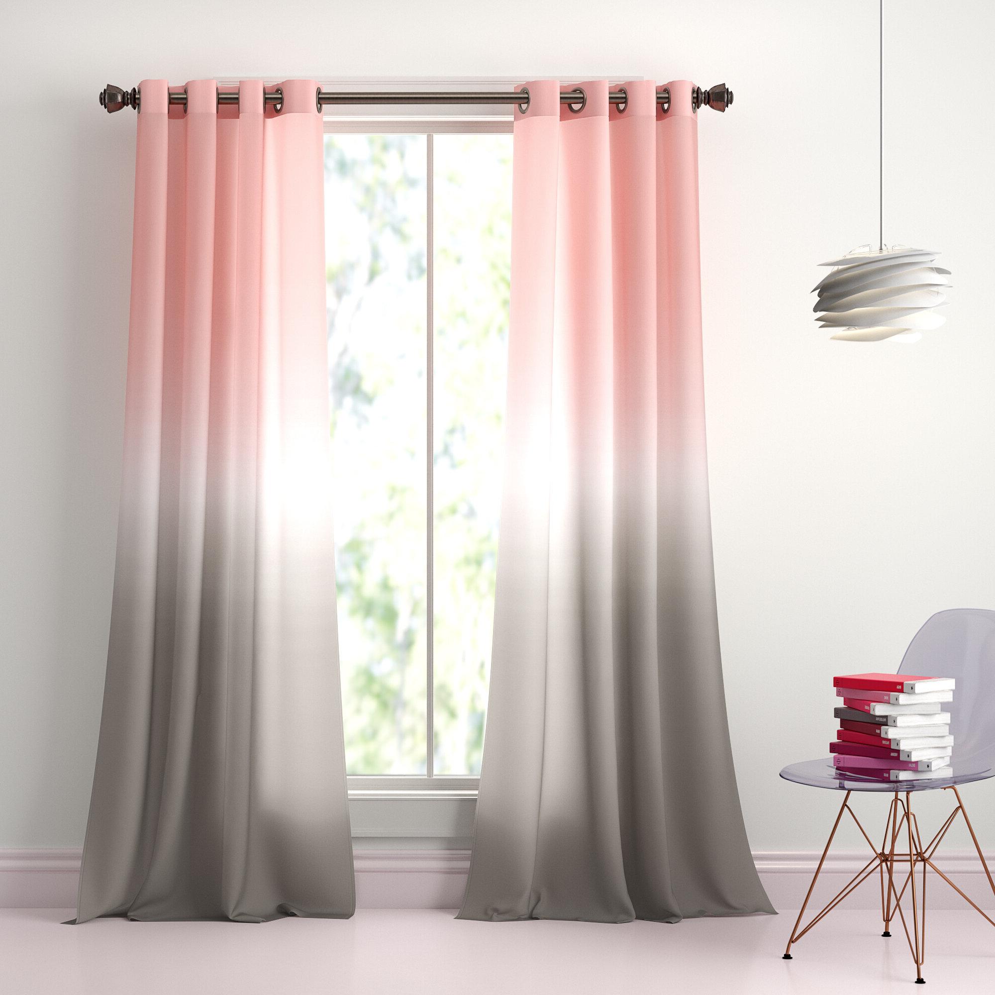 Most Up To Date Monte Room Darkening Grommet Window Panel Pair With Room Darkening Window Curtain Panel Pairs (Gallery 14 of 20)