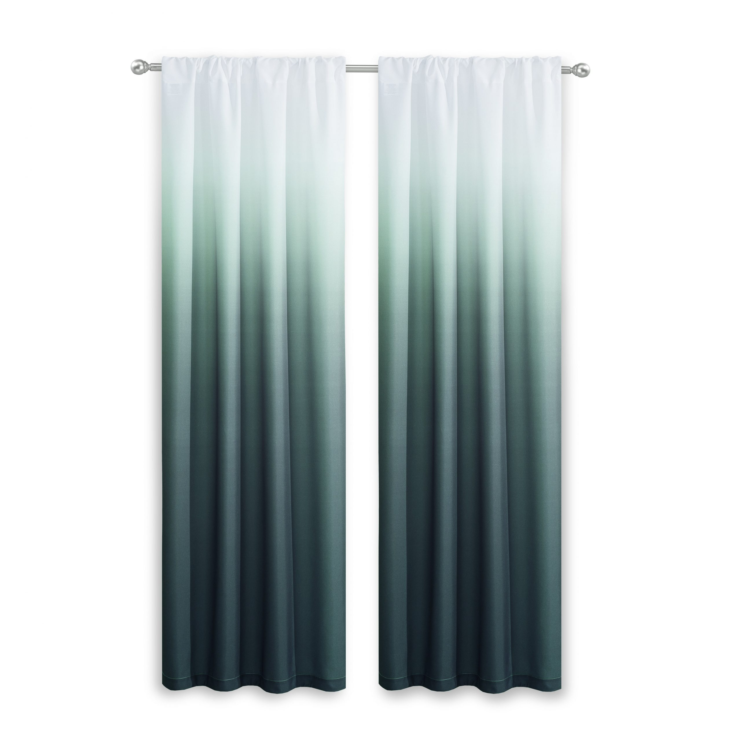 Most Up To Date Rod Pocket Curtain Panels Throughout Nuss Ombre Room Darkening Rod Pocket Curtain Panels (Gallery 15 of 20)
