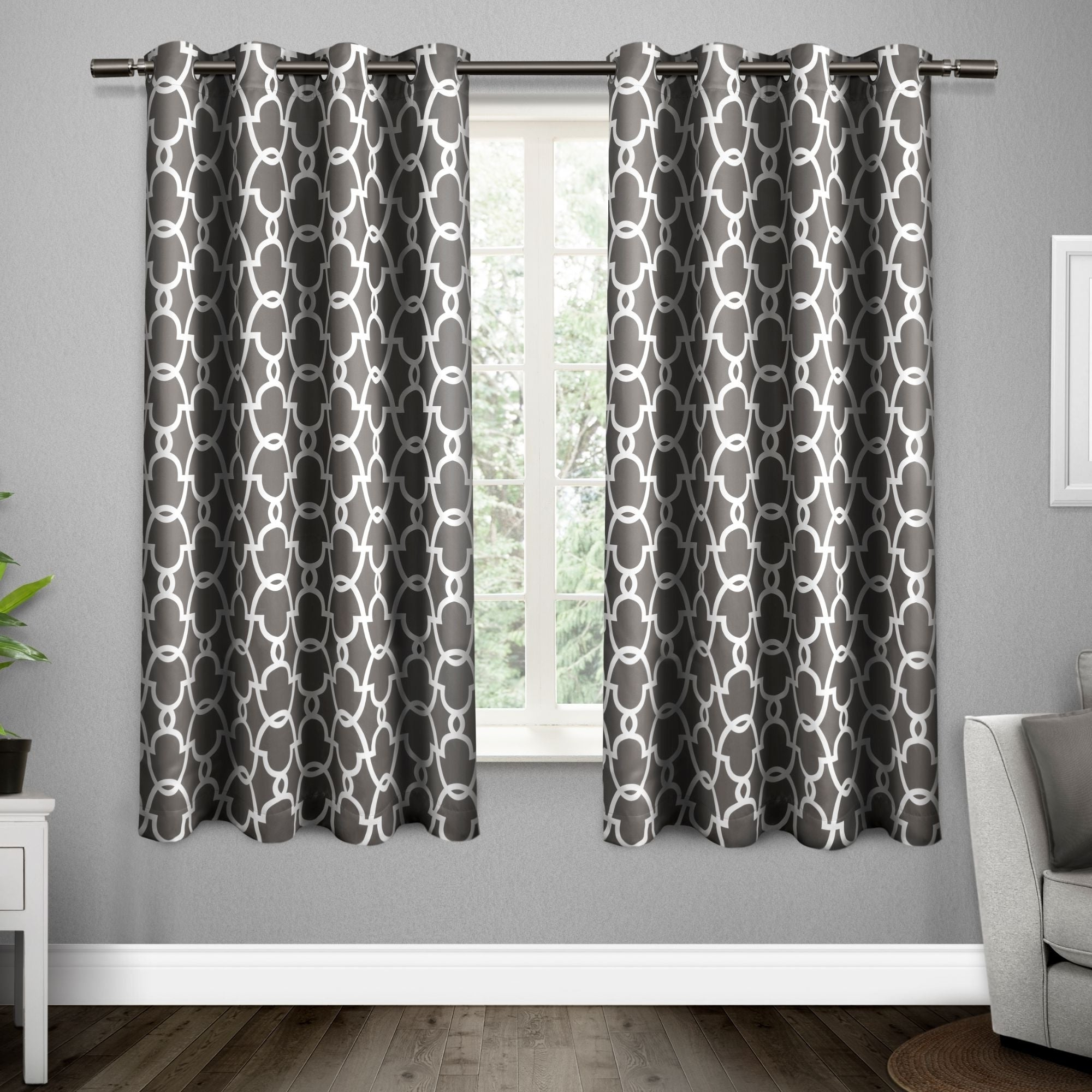 Most Up To Date The Curated Nomad Vicksburg Thermal Woven Blackout Grommet Top Curtain Panel Pair For Easton Thermal Woven Blackout Grommet Top Curtain Panel Pairs (View 13 of 20)